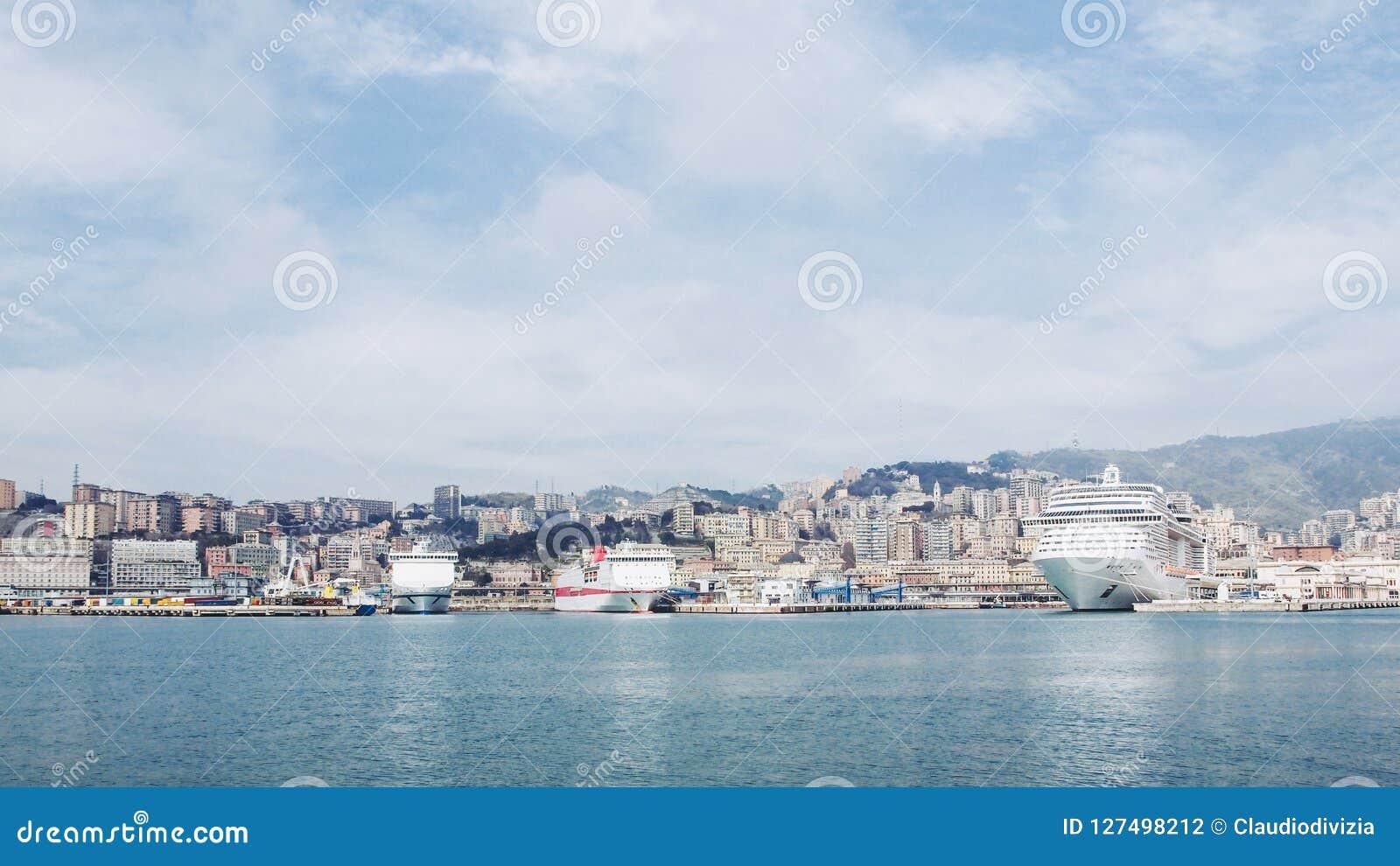 Λιμάνι Γένοβα Ιταλία