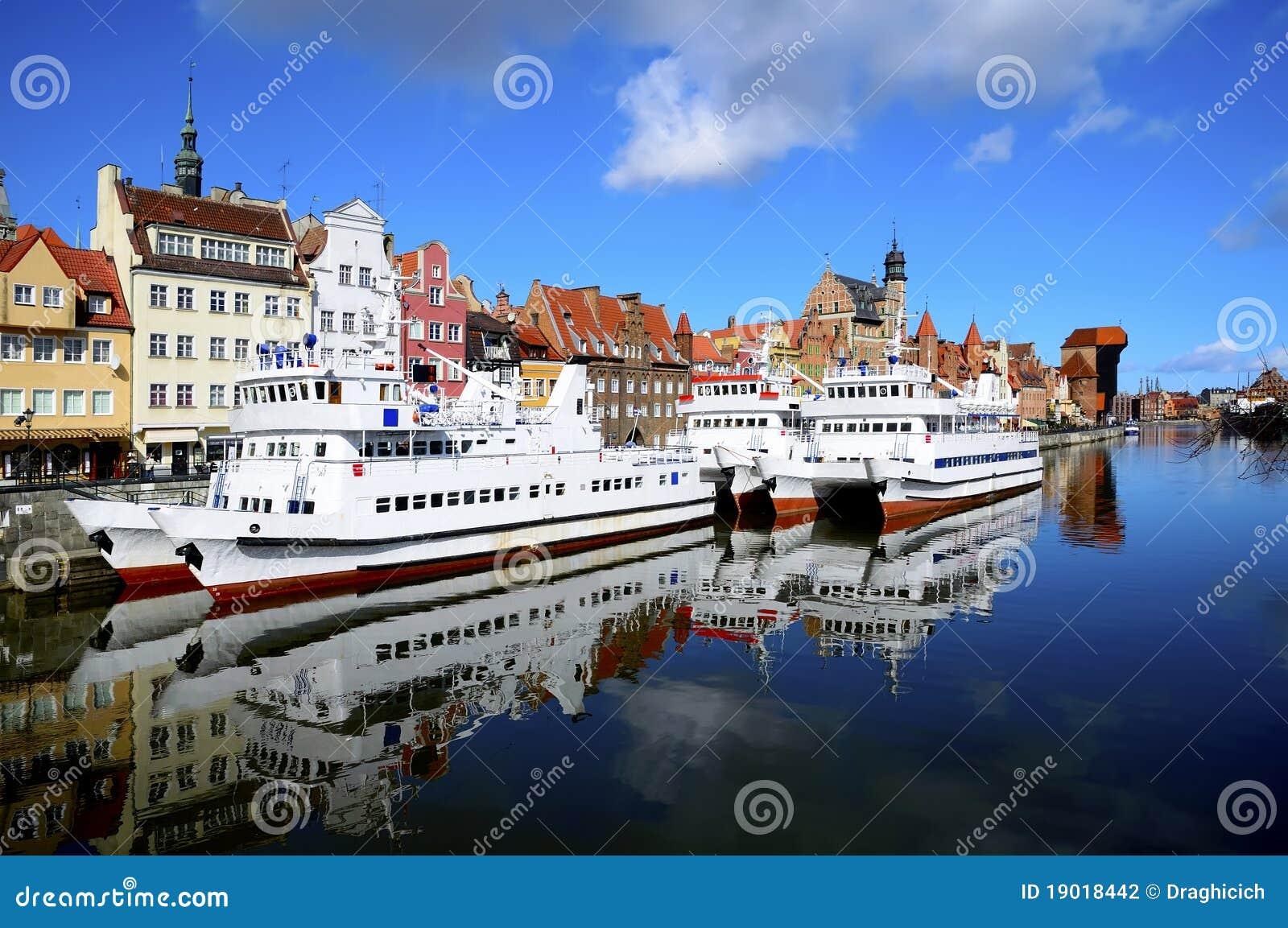 λιμάνι Πολωνία του Γντανσ&