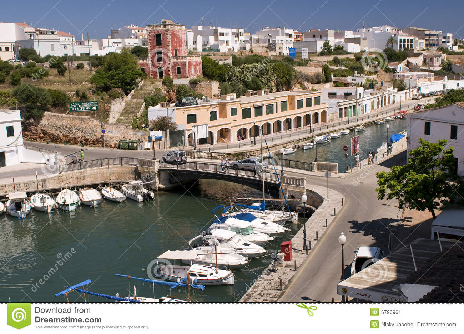 λιμένας Ισπανία menorca ciutadella