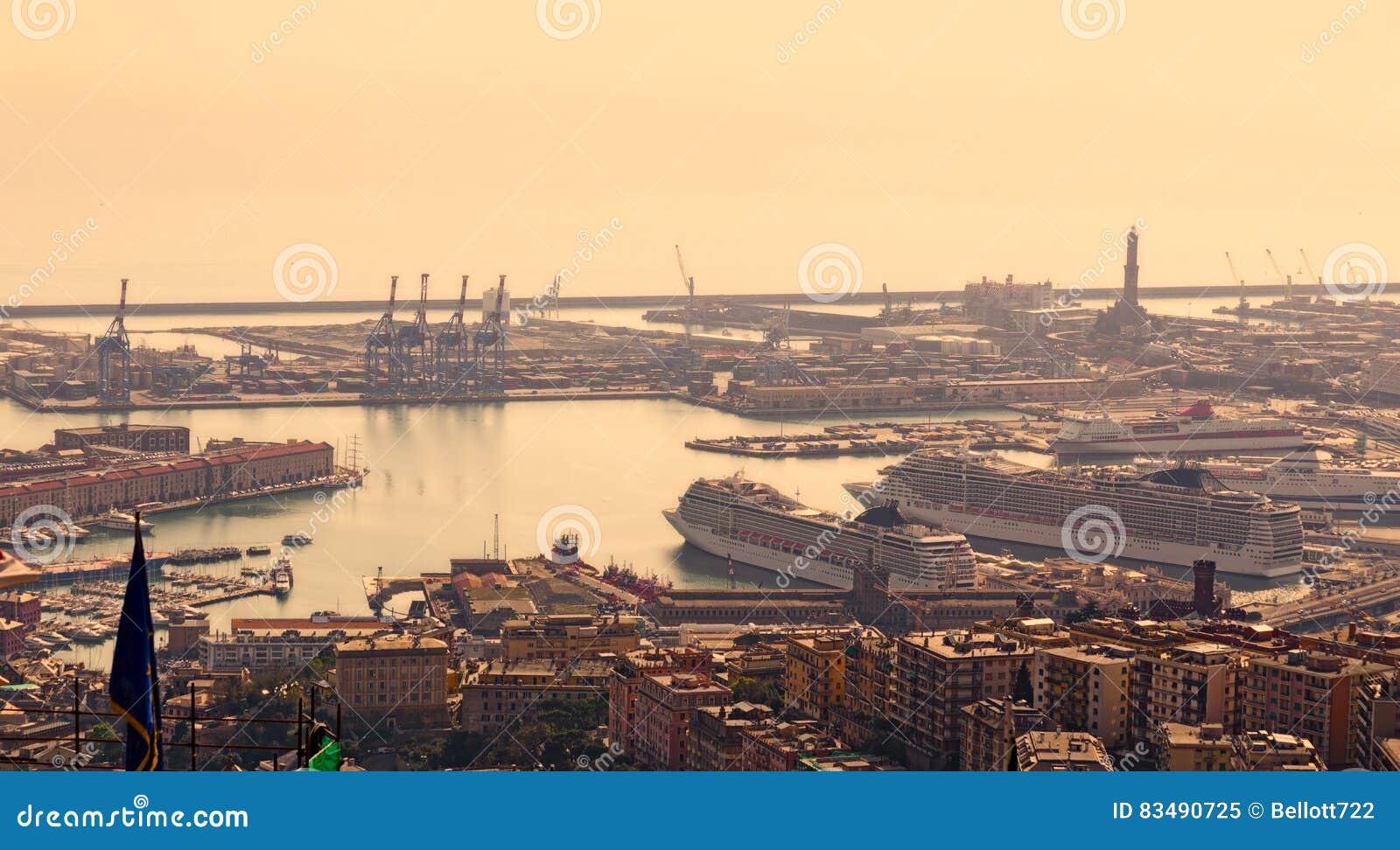 Λιμένας της Γένοβας, Ιταλία