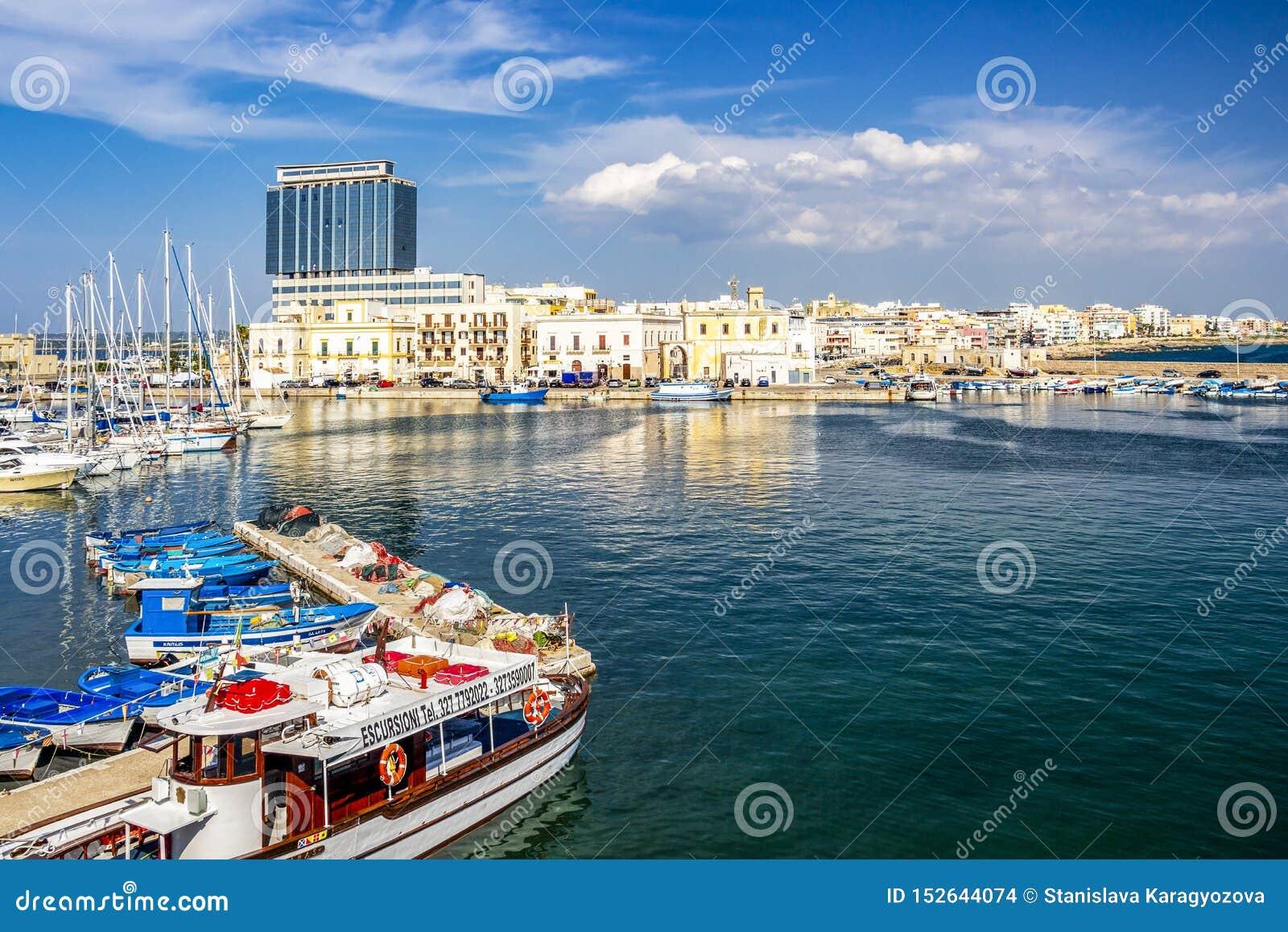 Λιμένας Gallipoli, επαρχία Lecce, Apulia, Ιταλία