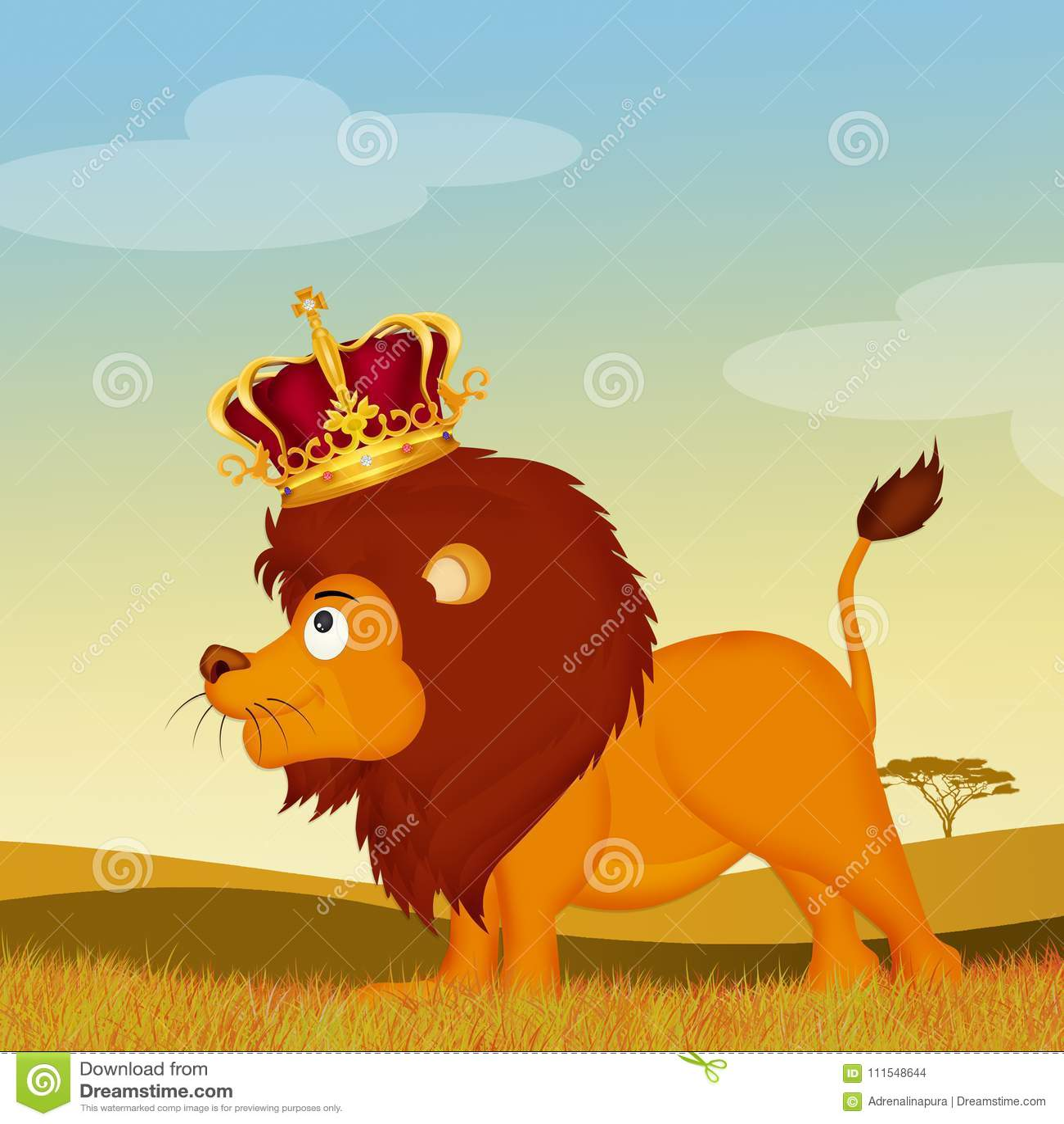 Λιοντάρι, ο βασιλιάς του δάσους