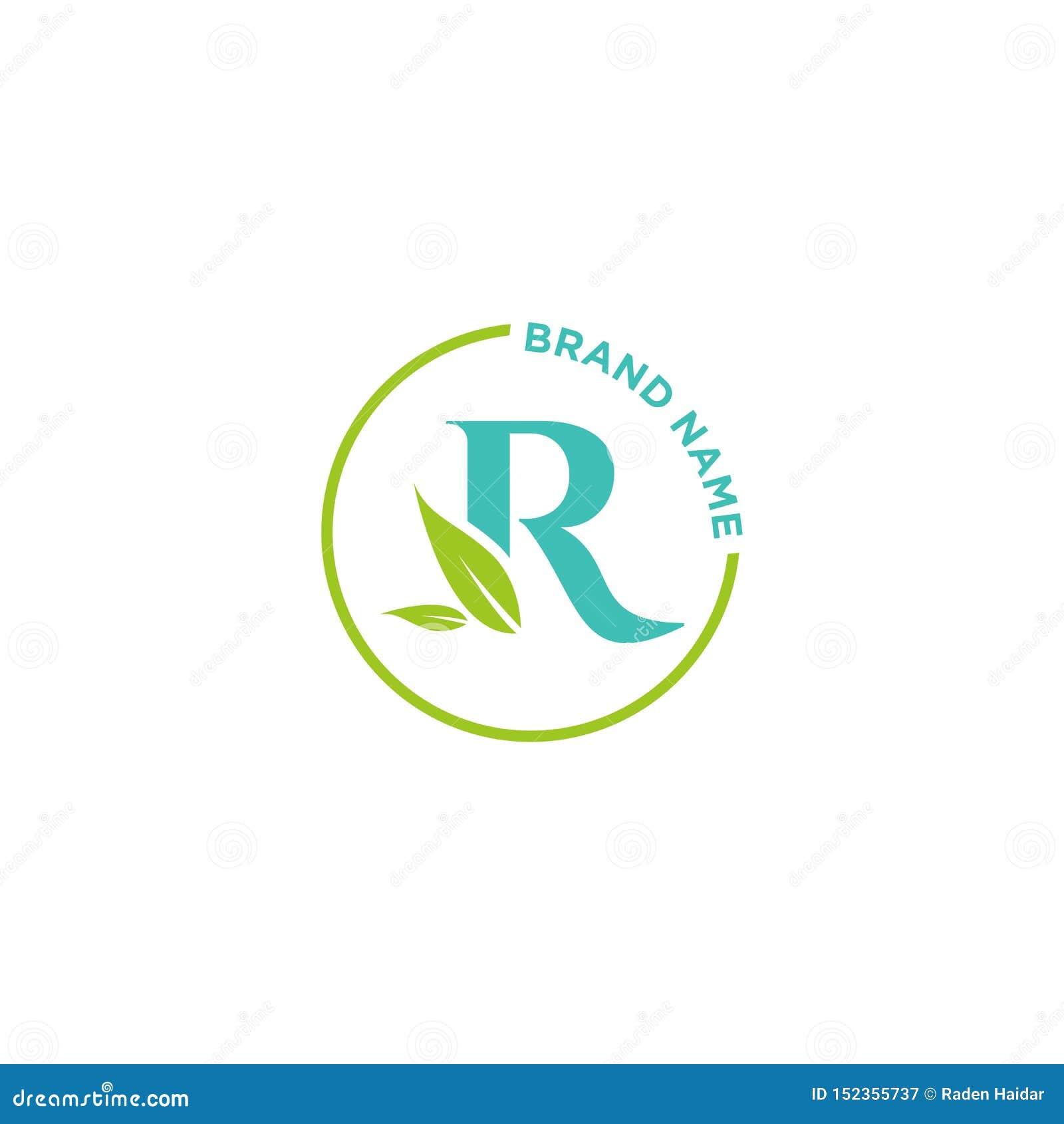 Λογότυπο ή αρχικά επιστολών Ρ για την επιχείρηση