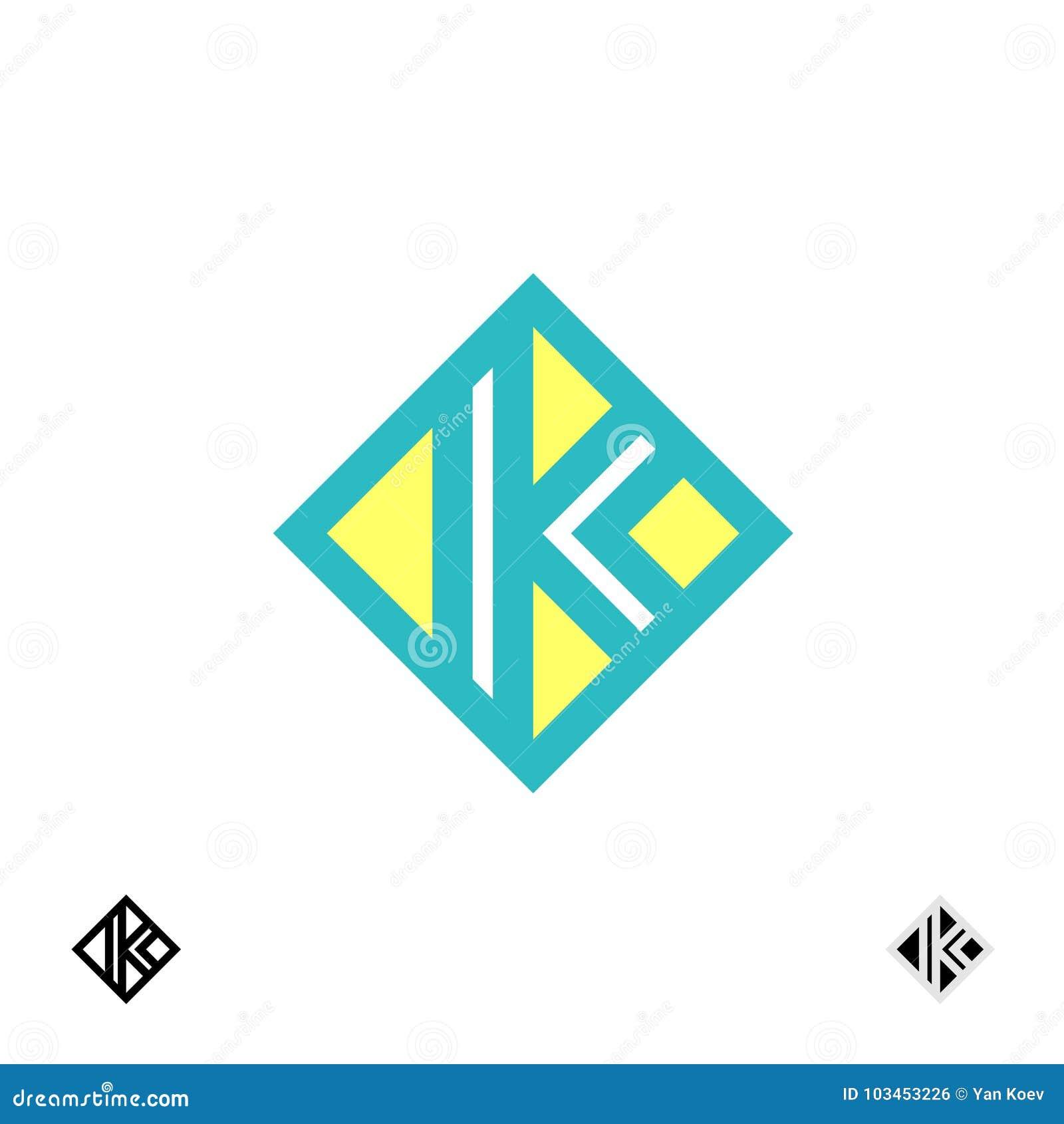 Λογότυπο γραμμάτων Κ