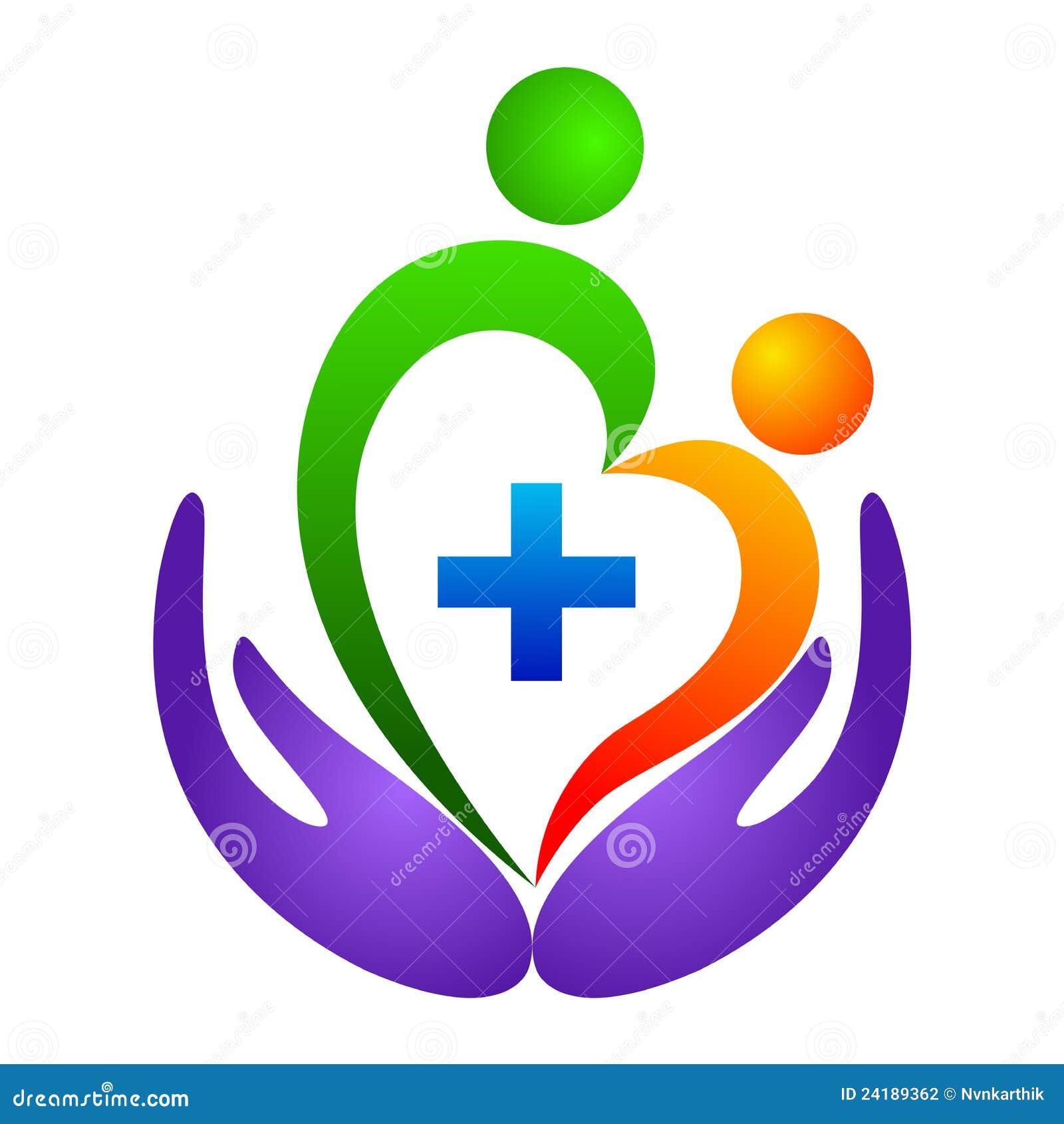 λογότυπο καρδιών προσοχής