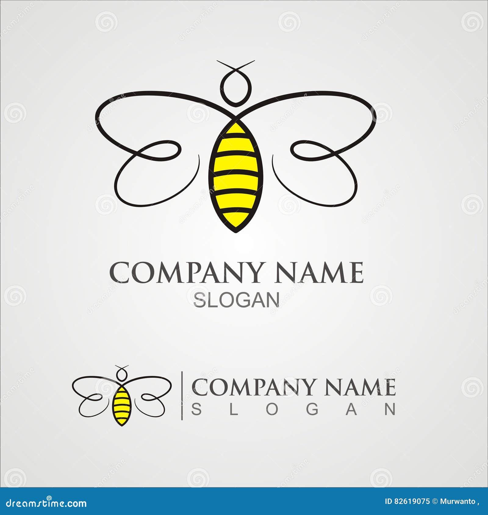 Λογότυπο μελισσών