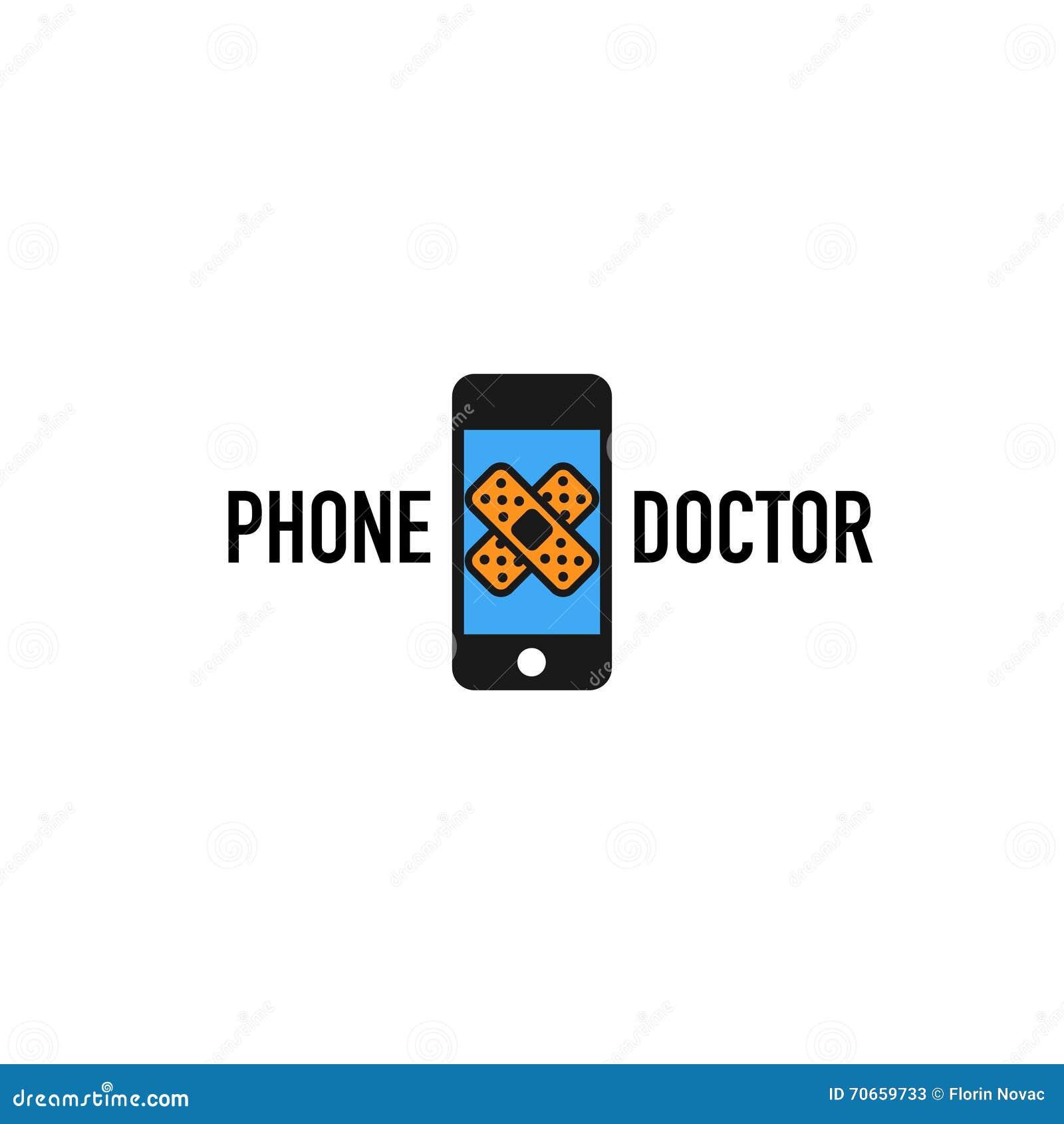 Λογότυπο τηλεφωνικών γιατρών