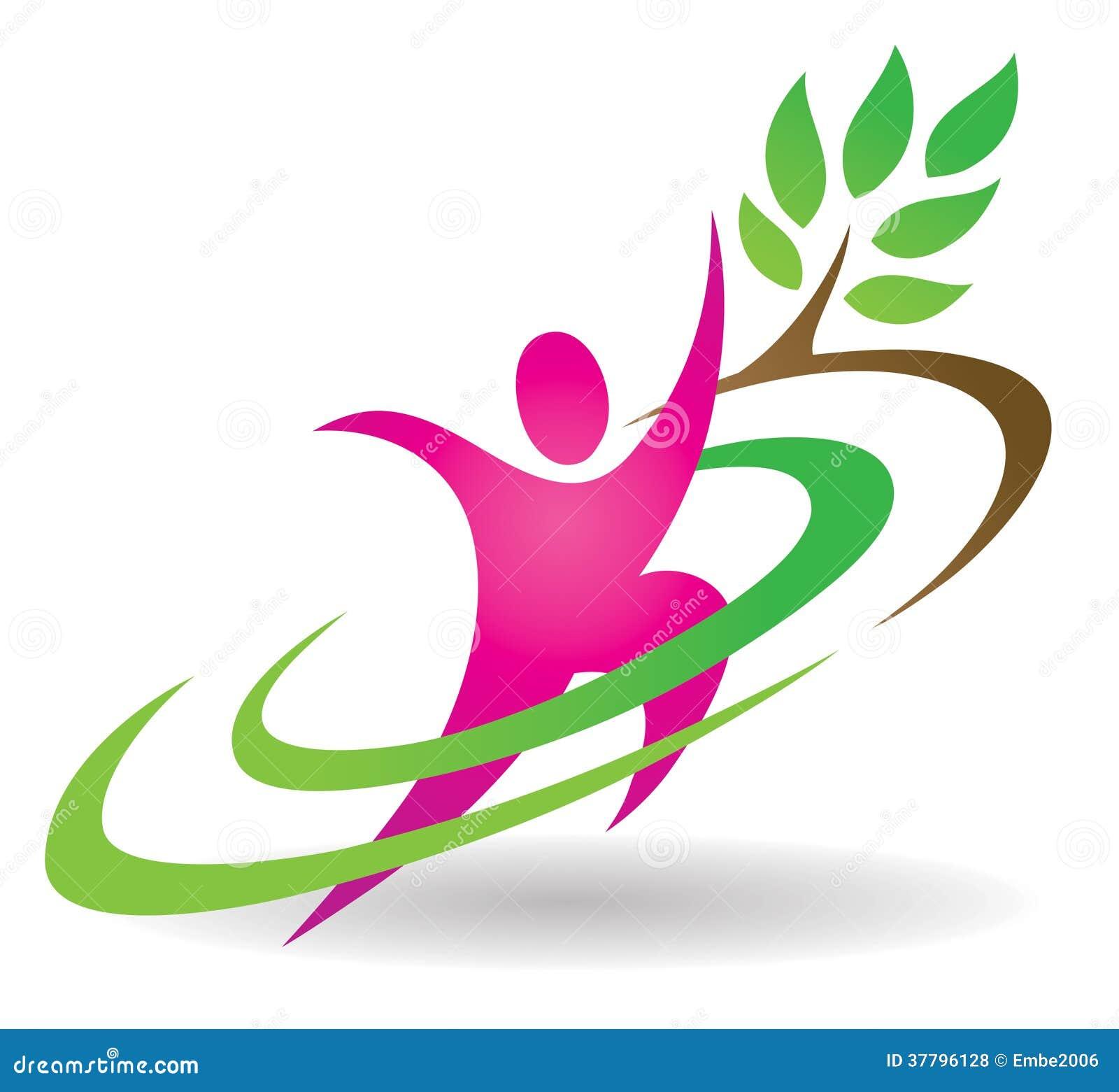 Λογότυπο φύσης υγείας