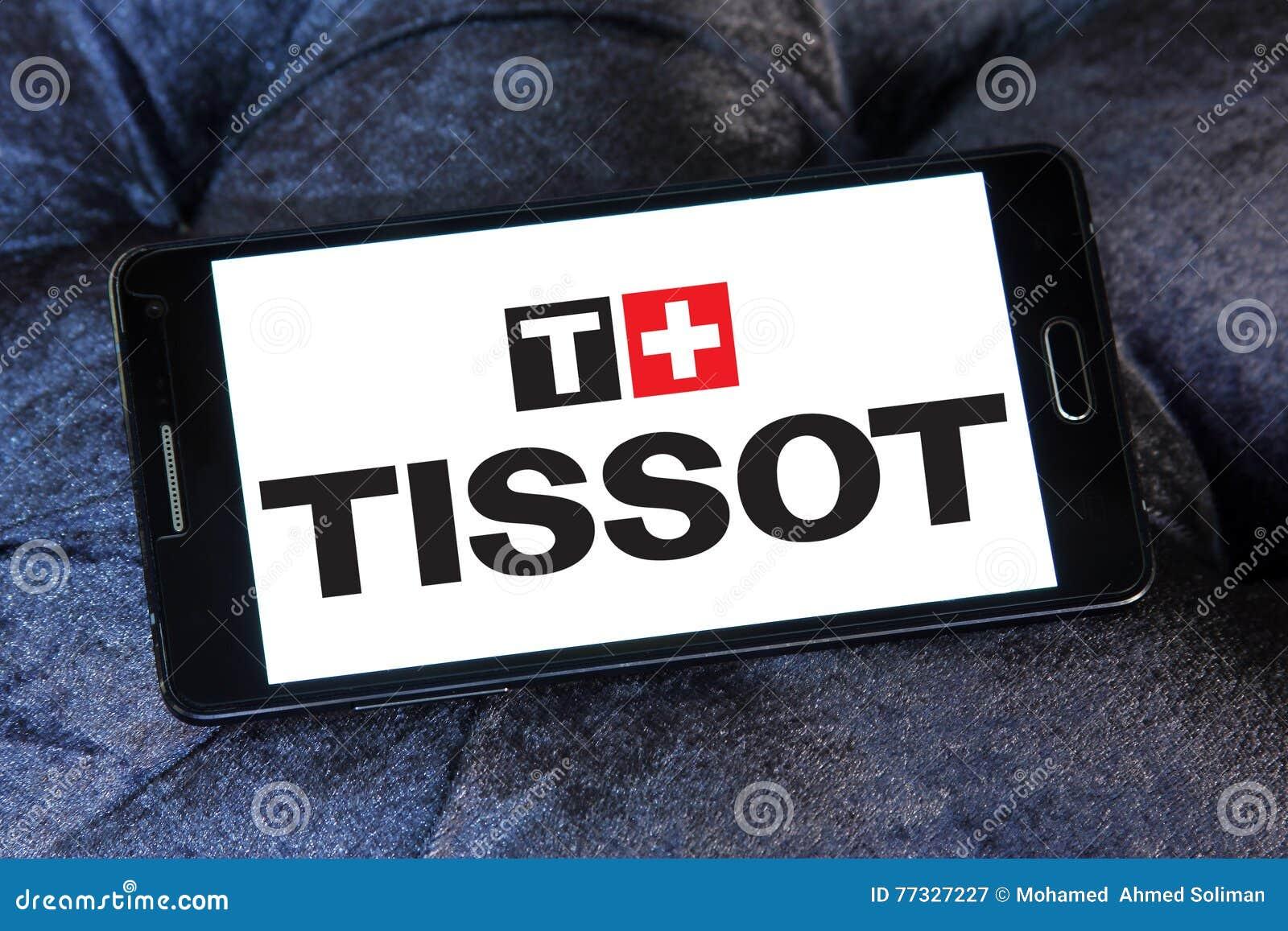 Λογότυπο της επιχείρησης ρολογιών tissot στο κινητό τηλέφωνο της Samsung b75f04ee13f