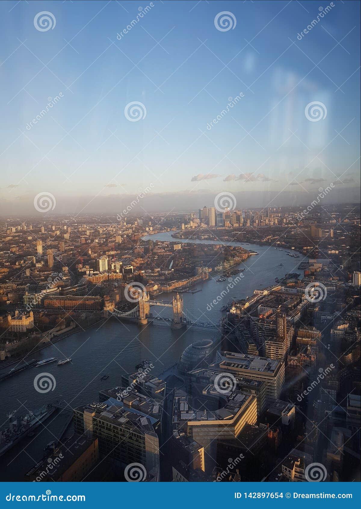 Λονδίνο από το Shard