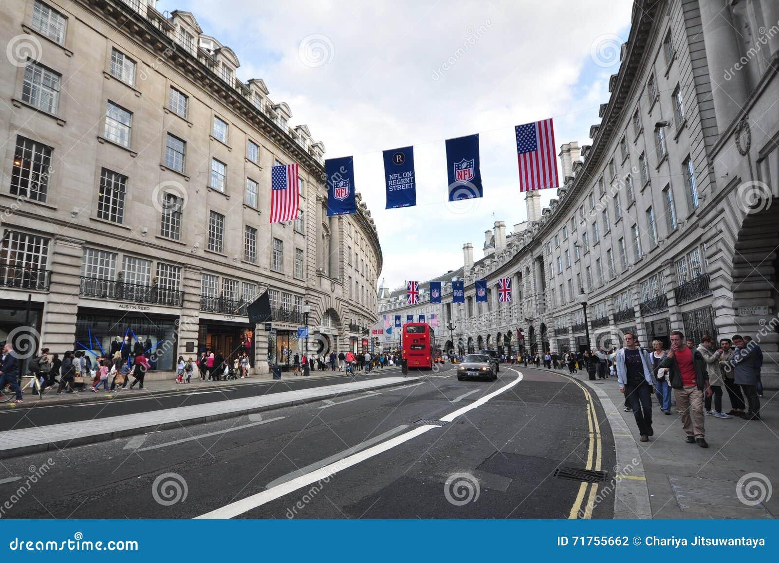 Λονδίνο, Αγγλία - τον Οκτώβριο του 2013: Τσίρκο της Οξφόρδης