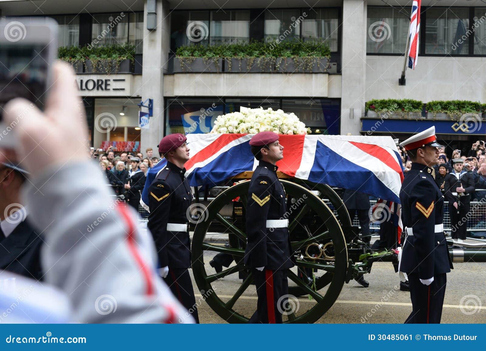 Κηδεία της Θάτσερ βαρονών