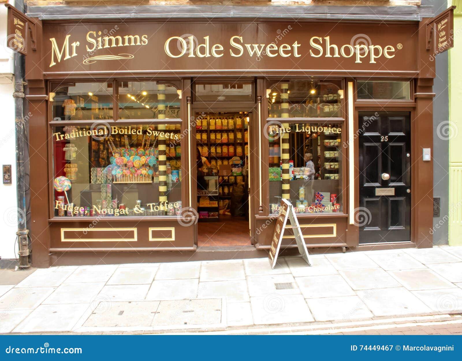 Λονδίνο, UK - 17 Αυγούστου 2010: εξωτερική άποψη ενός παλιού γλυκού