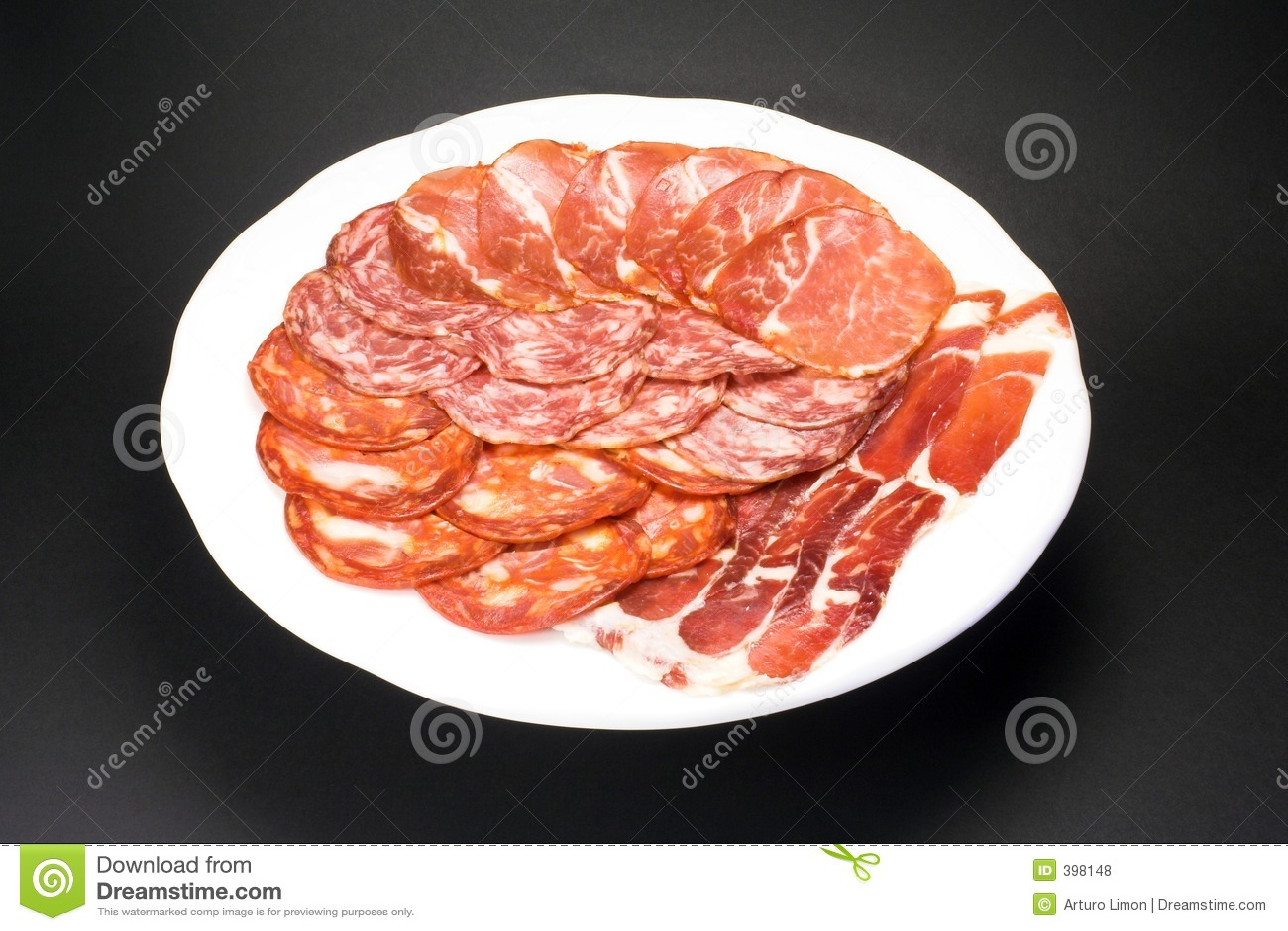 λουκάνικα χοιρινού κρέατ
