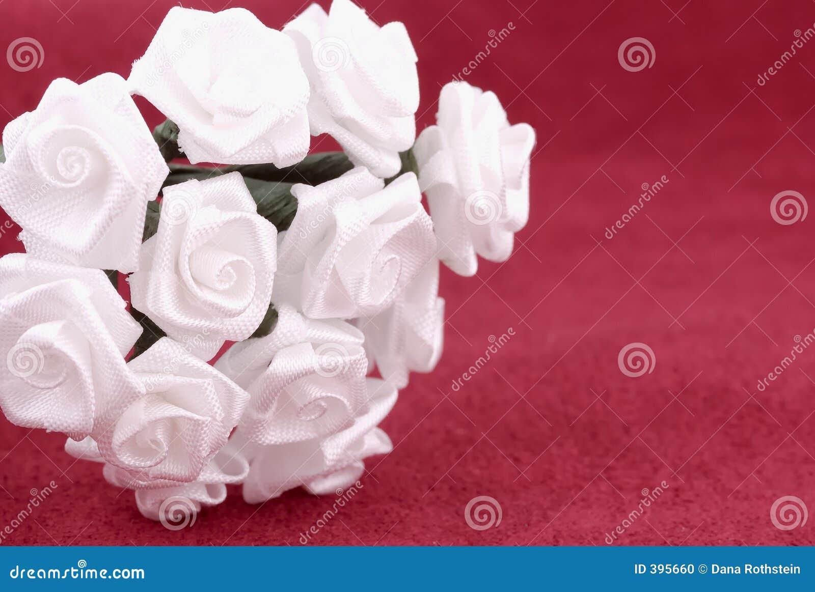 λουλούδια υφάσματος