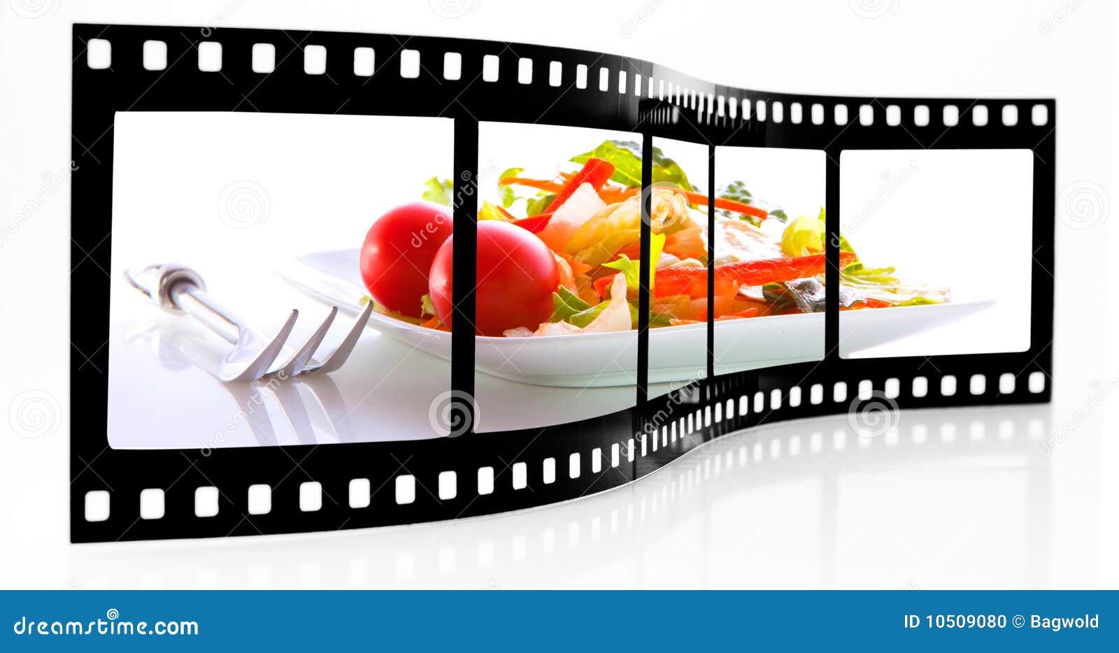 λουρίδα σαλάτας ταινιών