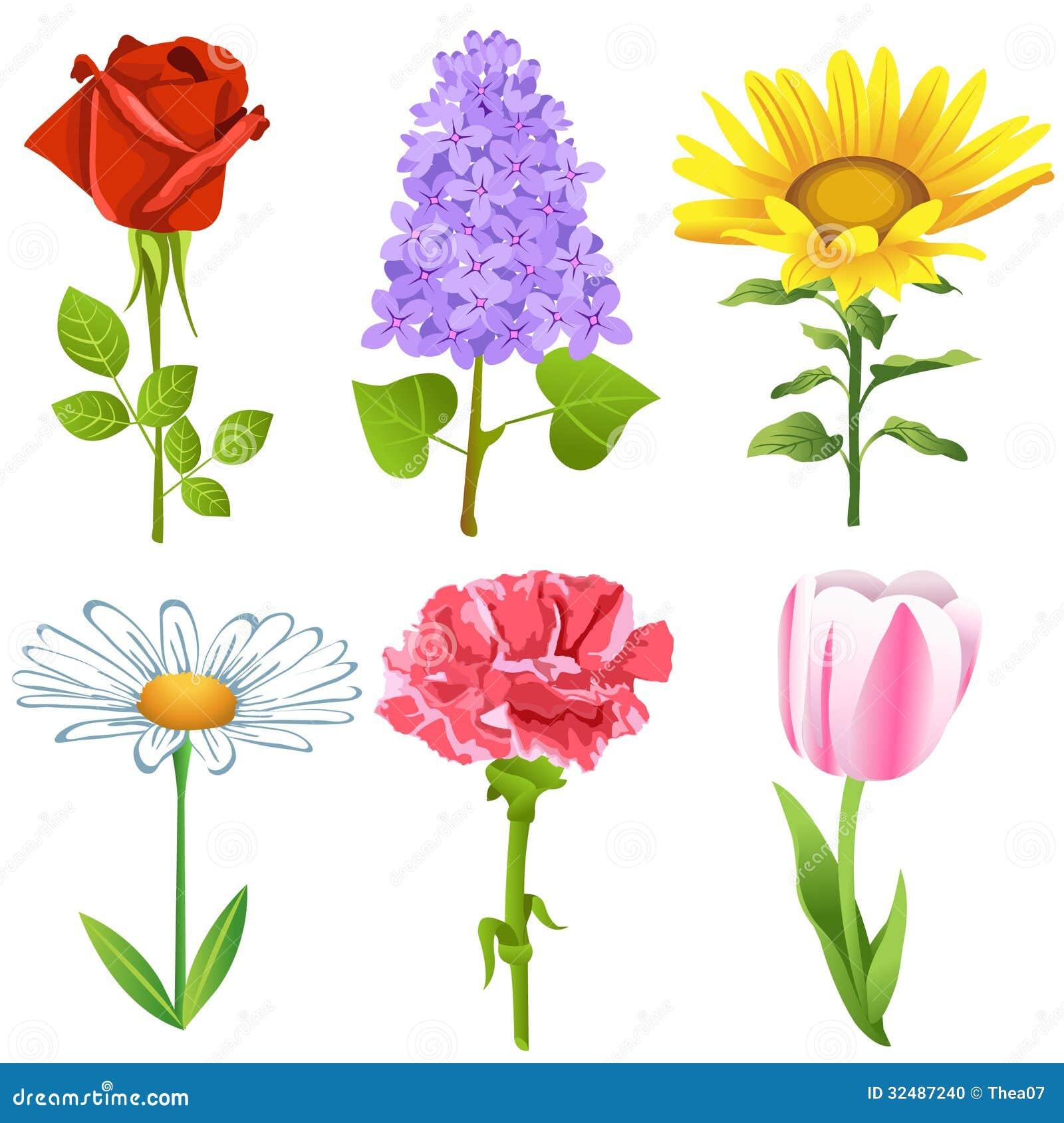 Λουλούδια καθορισμένα