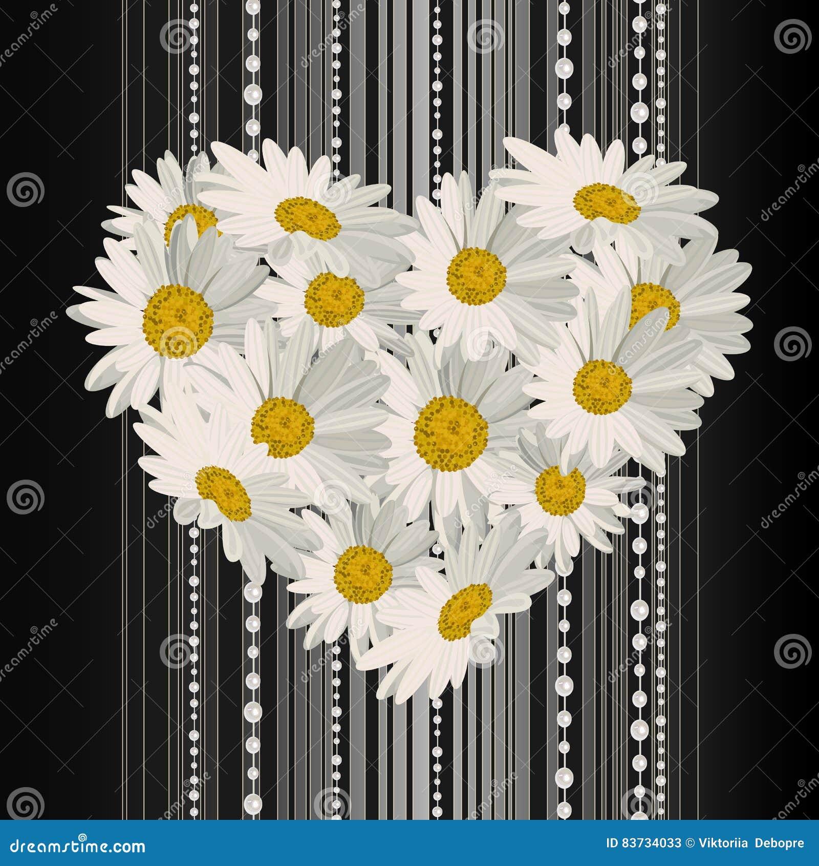 Λουλούδια με μορφή μιας καρδιάς