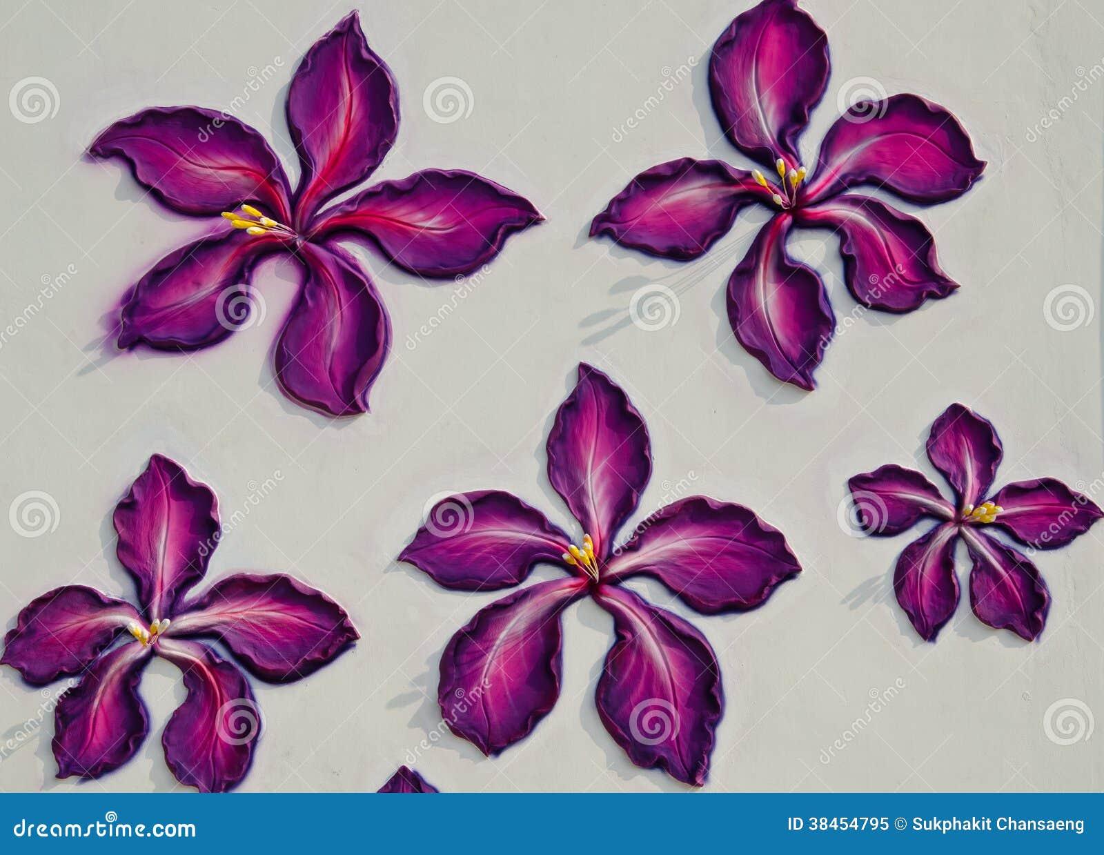 Λουλούδι σε έναν τοίχο