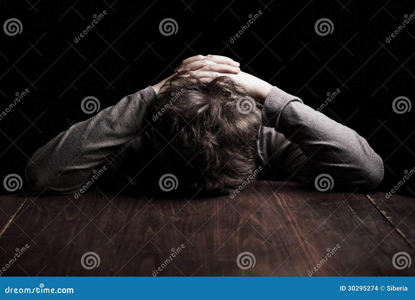Λυπημένος έφηβος