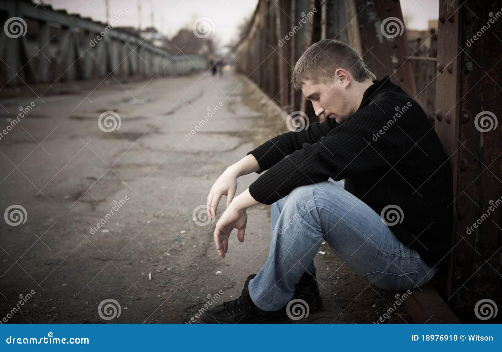 Λυπημένο άτομο