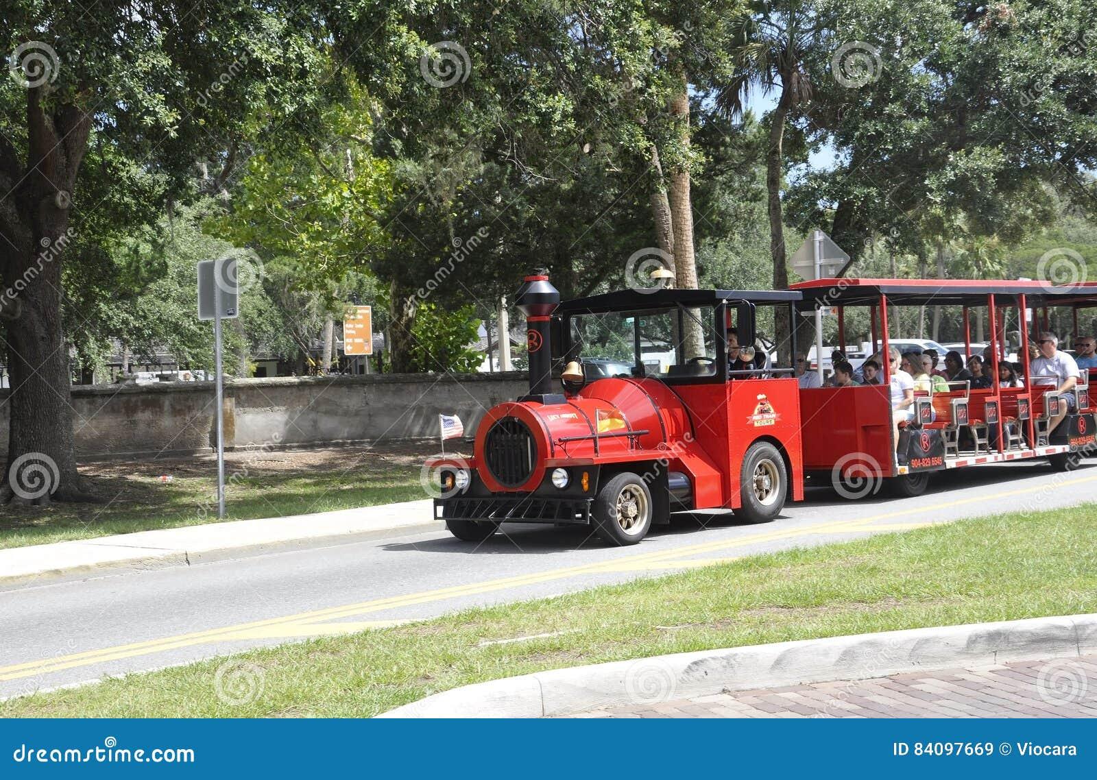 ΛΦ του ST Augustine, στις 8 Αυγούστου: Επίσκεψη του τραίνου στο ST Augustine από τη Φλώριδα