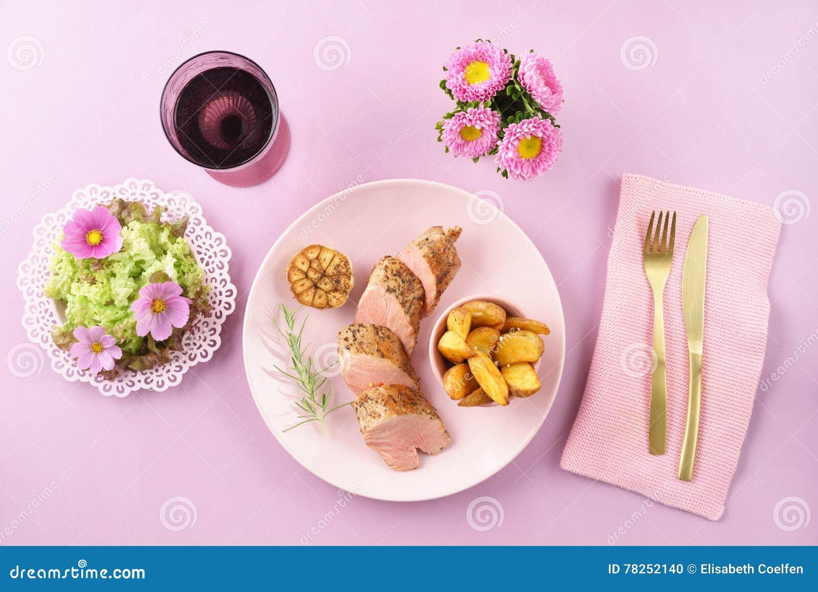 Λωρίδα με τη σαλάτα