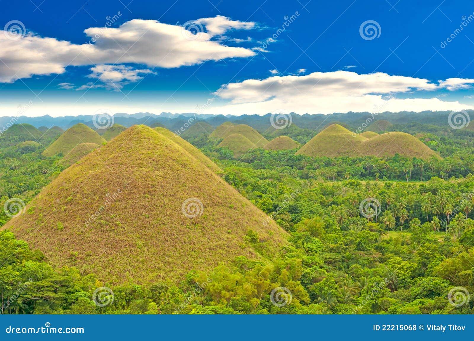 λόφοι Φιλιππίνες σοκολά&ta