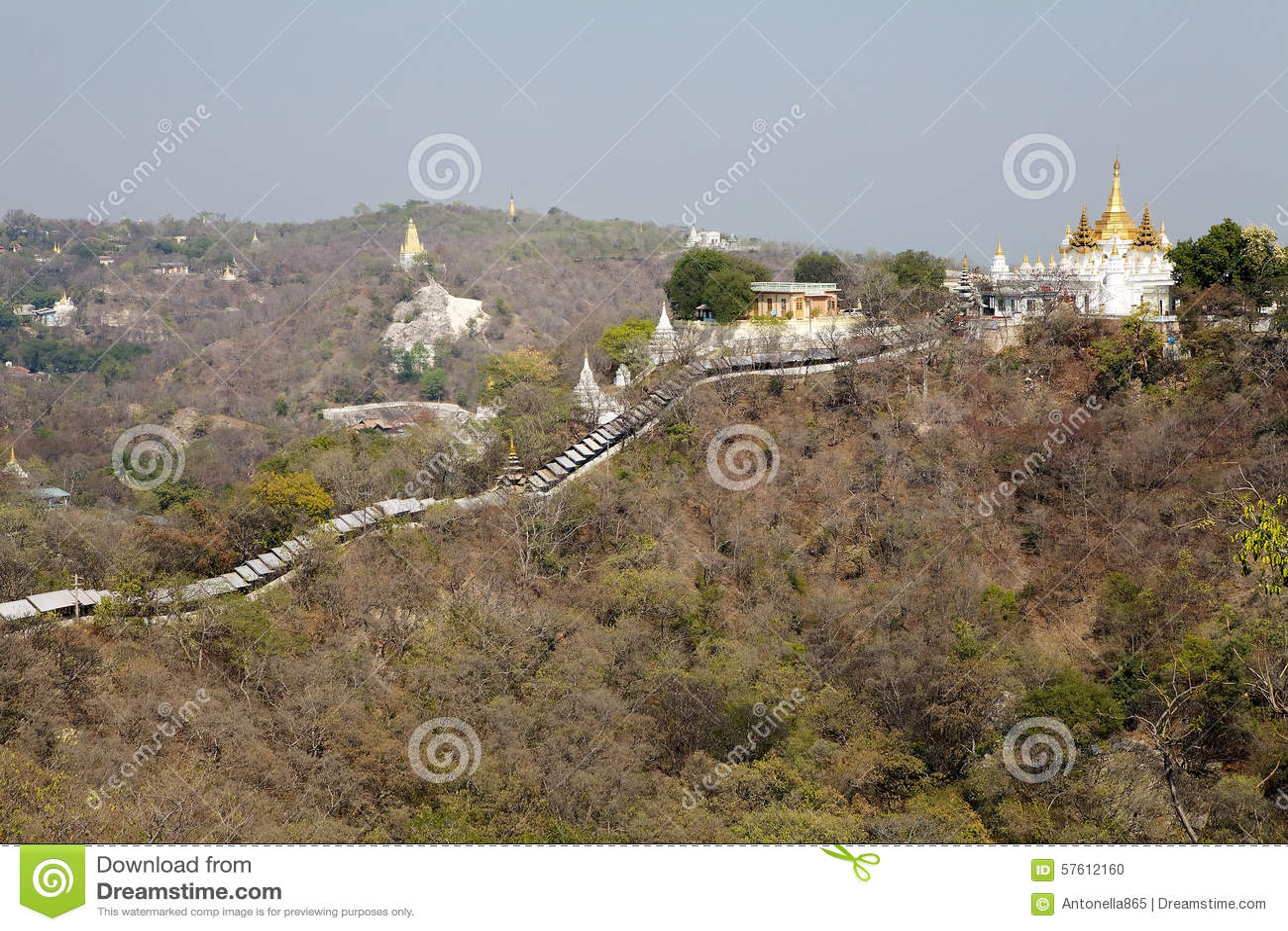 Λόφοι Sagaing, το Μιανμάρ