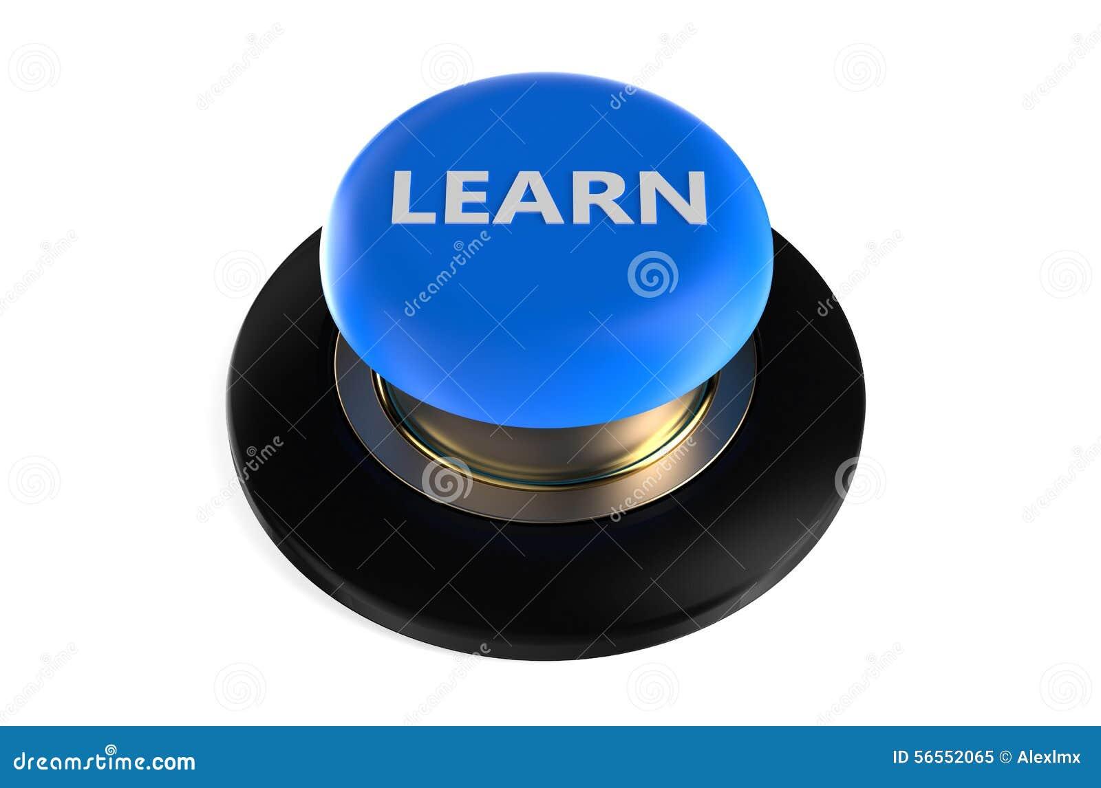 Download μάθετε το κουμπί ώθησης απεικόνιση αποθεμάτων. εικονογραφία από πλαστικό - 56552065