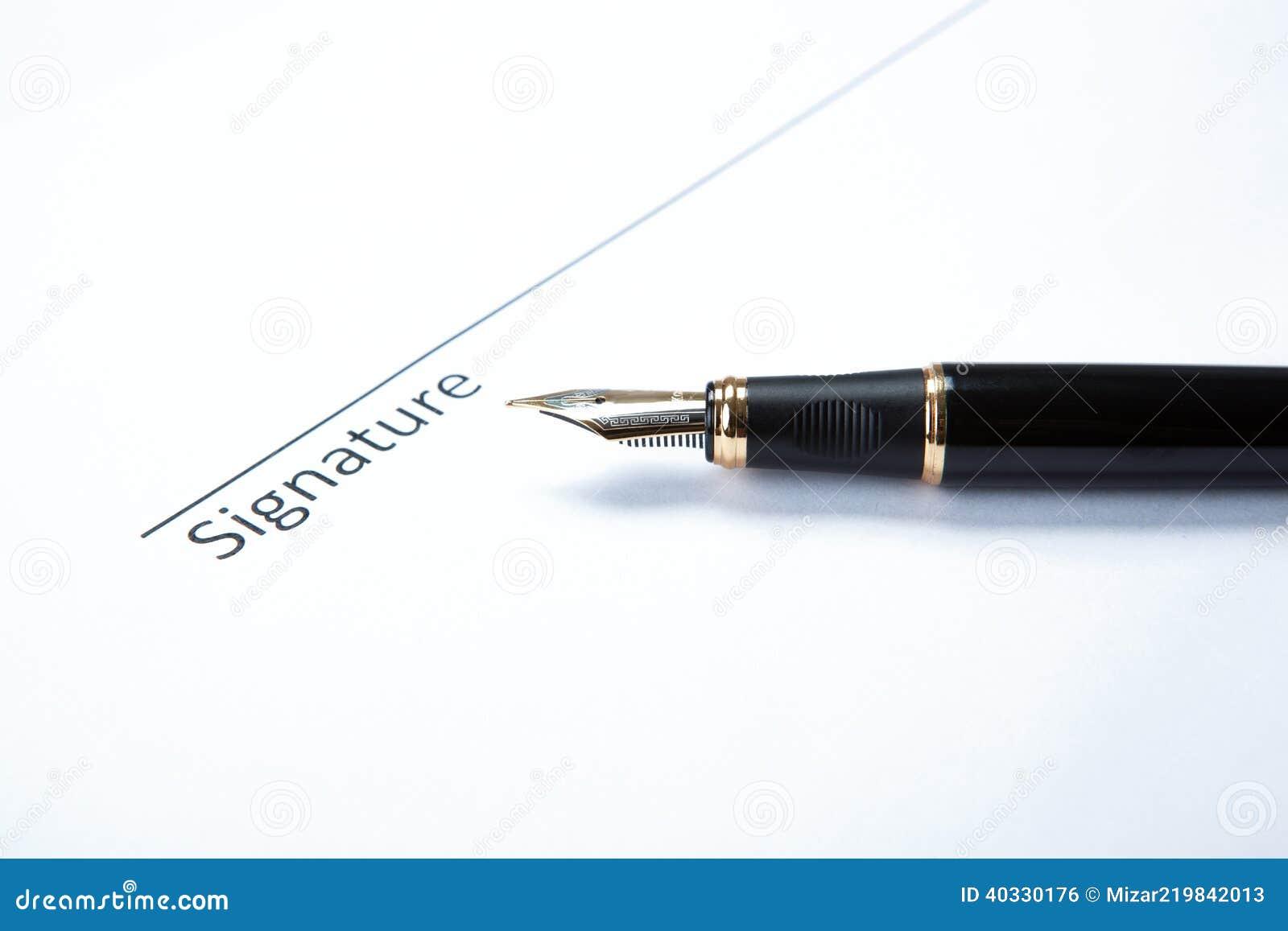 Μάνδρα και υπογραφή