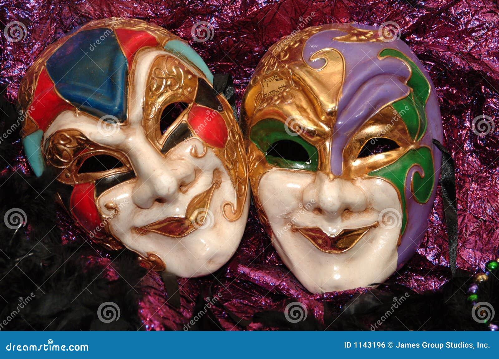 μάσκες mardi gras