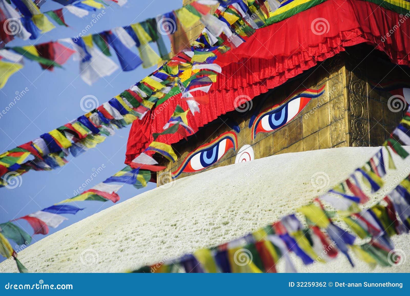 Μάτια φρόνησης, Bodhnath, Νεπάλ