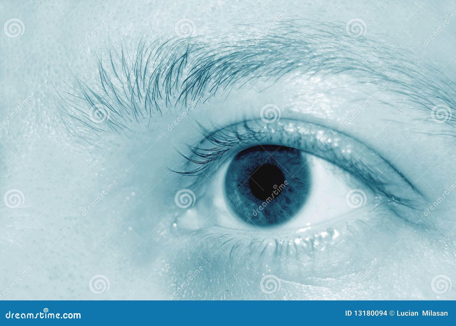 μάτι λεπτομέρειας