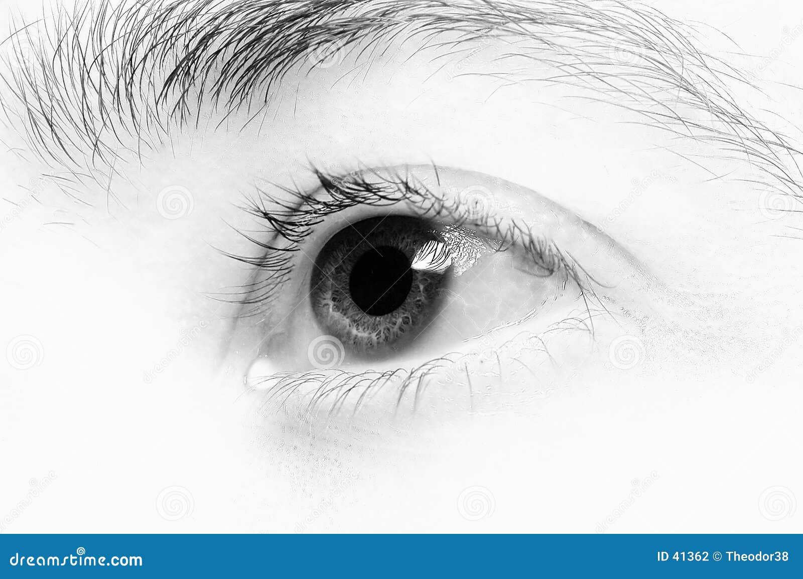 μάτι 4 κινηματογραφήσεων σε πρώτο πλάνο