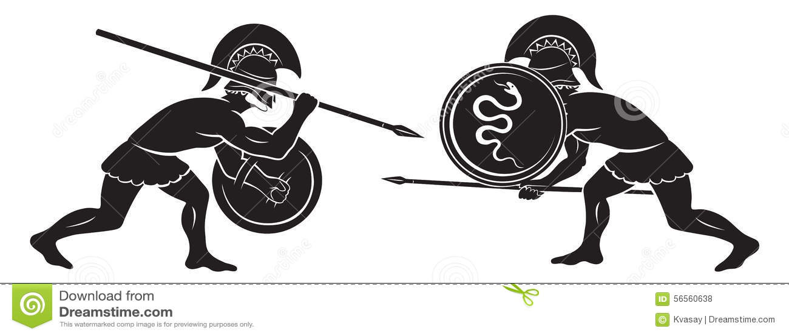Download Μάχη gladiators στοκ εικόνες. εικόνα από δαχτυλίδι, μαίανδρος - 56560638