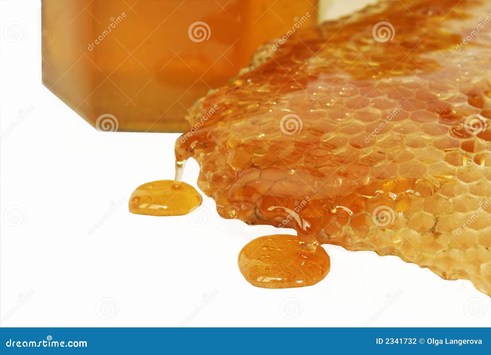 μέλι λεπτομέρειας μελισ