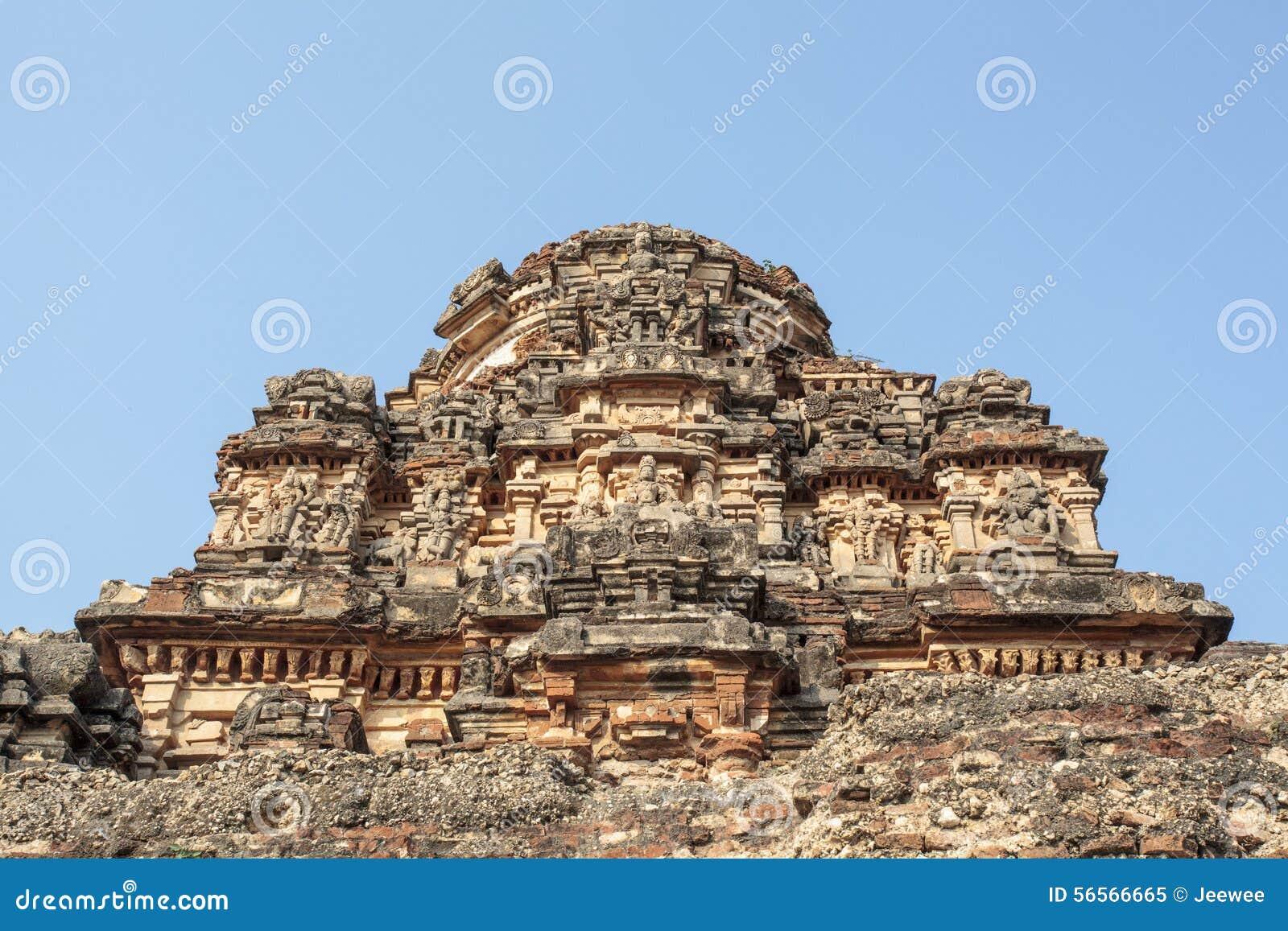 Download Μέσα στον ινδό ναό Vittala στην αρχαία περιοχή Hampi, Karnataka, Ινδία Στοκ Εικόνα - εικόνα από ancientness, ασία: 56566665