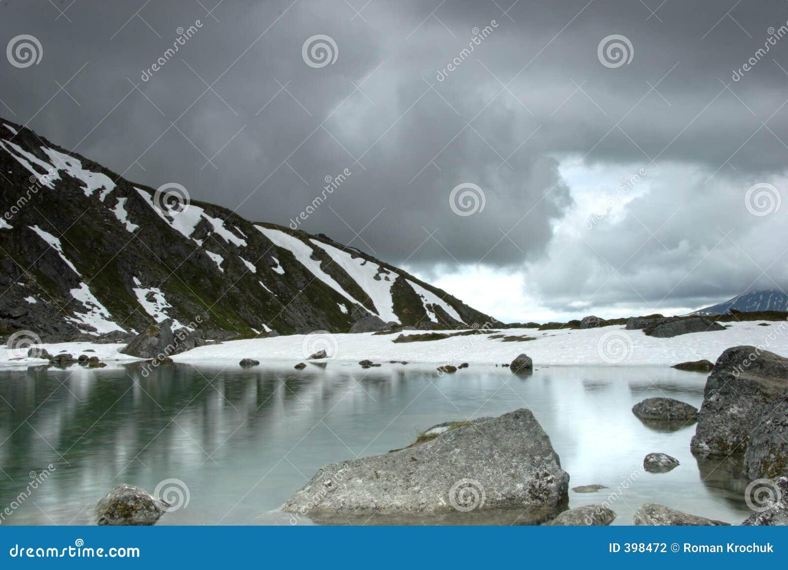 μέσο καλοκαίρι χιονιού