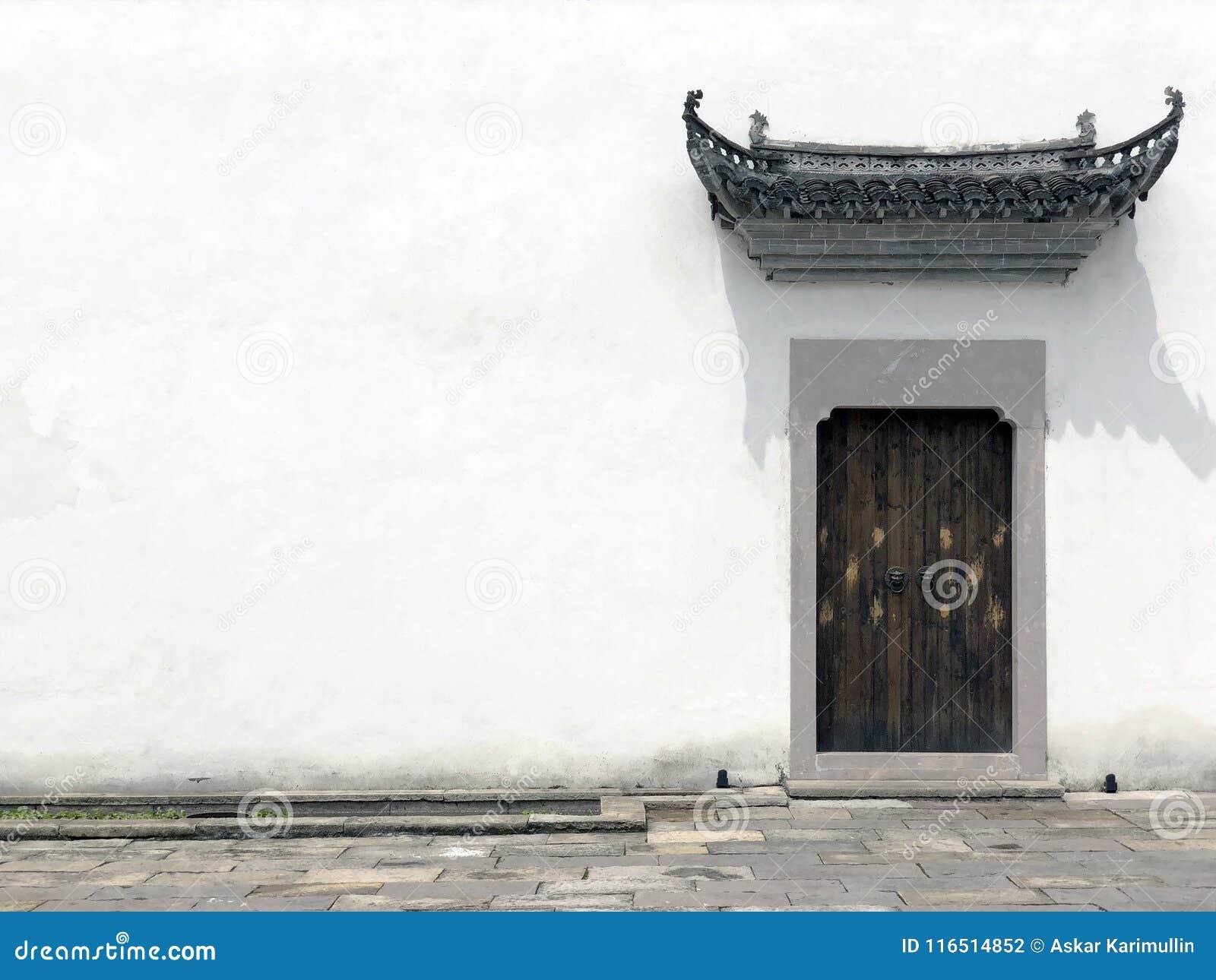 Μέτωπο του κινεζικού σπιτιού