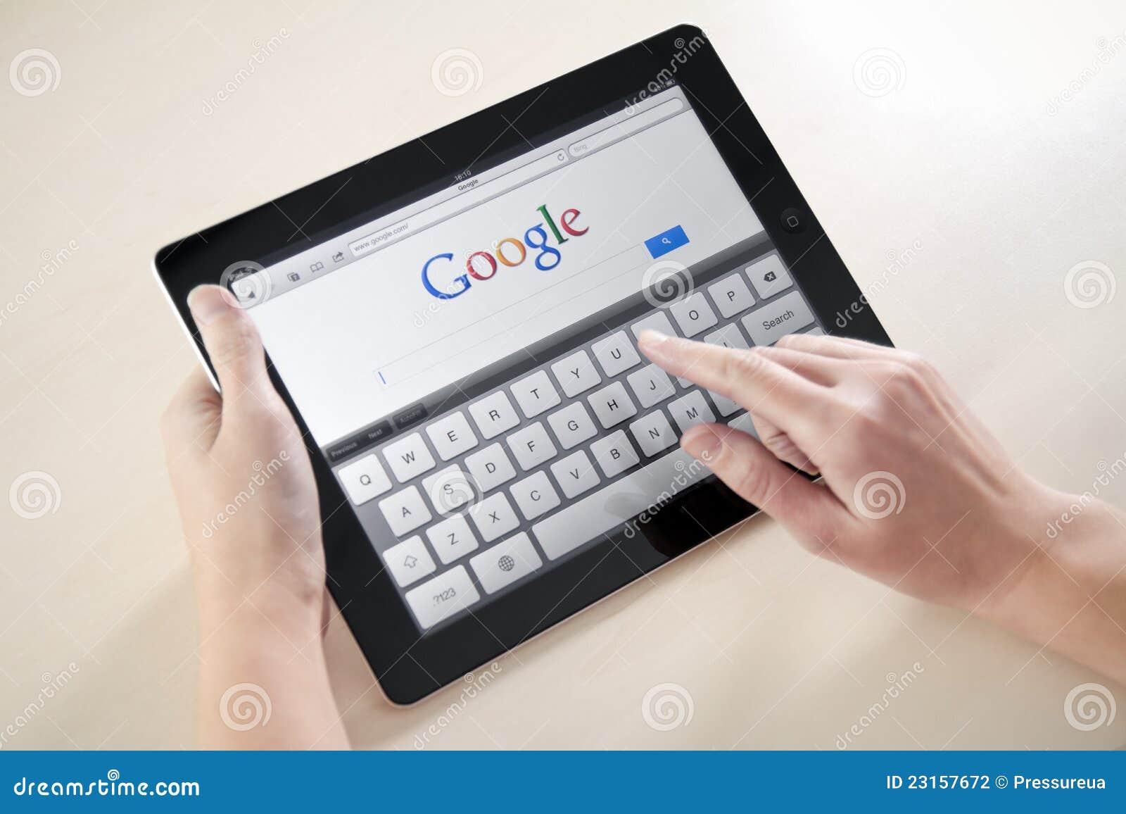 μήλο google ipad2