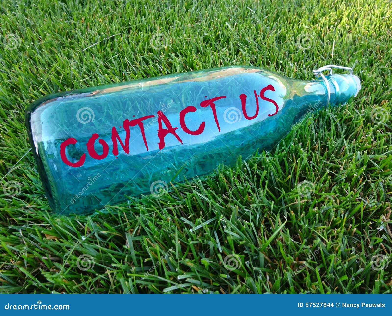 Μήνυμα σε ένα μπουκάλι - μας ελάτε σε επαφή με