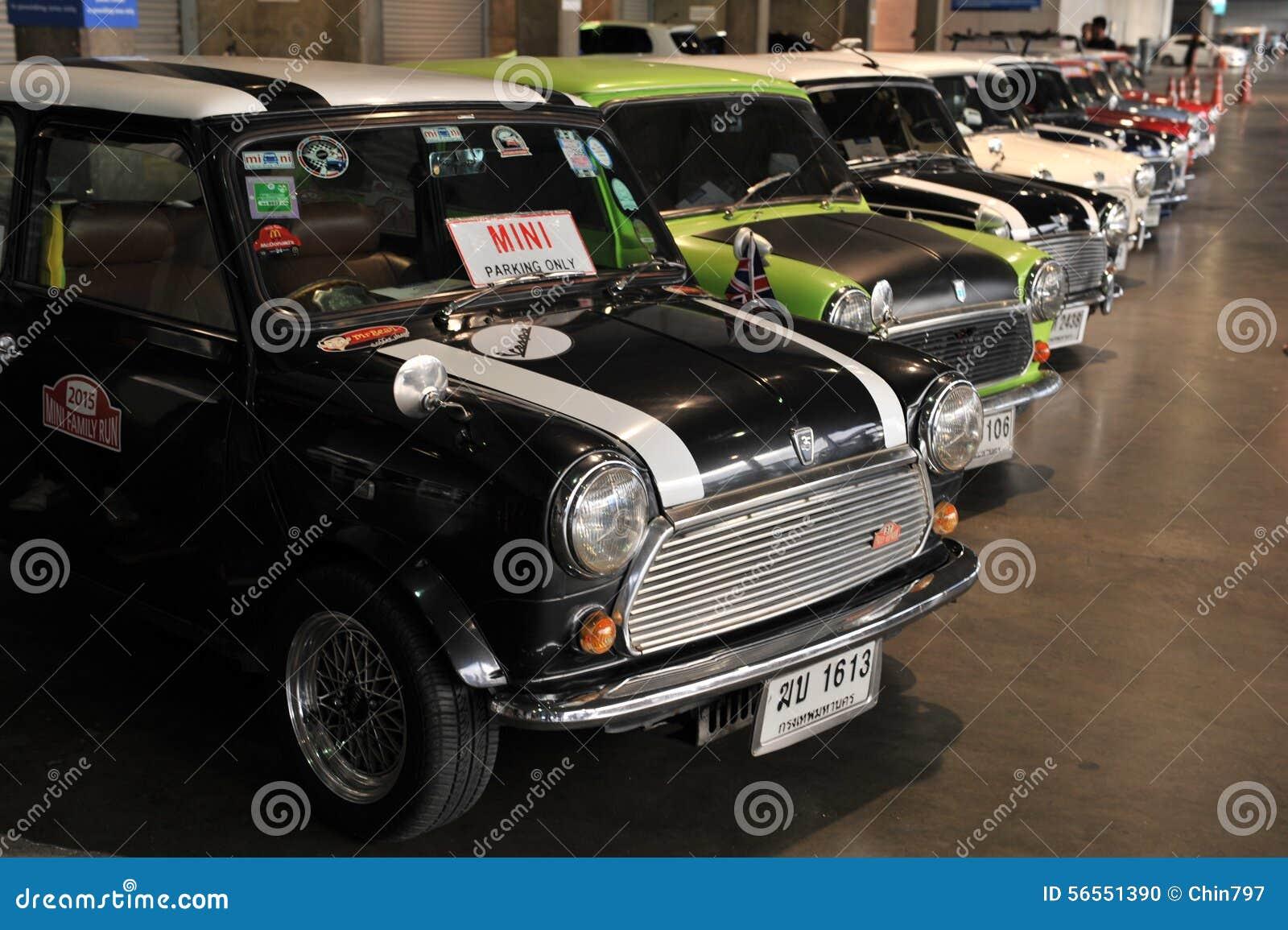 Μίνι αυτοκίνητο του Ώστιν στο 3$ο διεθνές autosalon 2015 της Μπανγκόκ στις 27 Ιουνίου 2015 στη Μπανγκόκ, Ταϊλάνδη