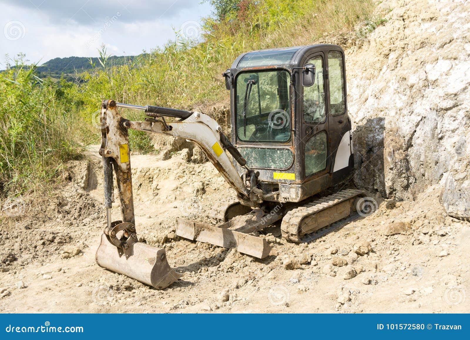 Μίνι υδραυλικός εκσκαφέας