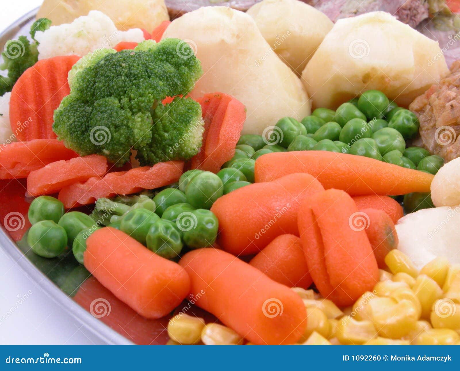 μαγειρευμένα λαχανικά