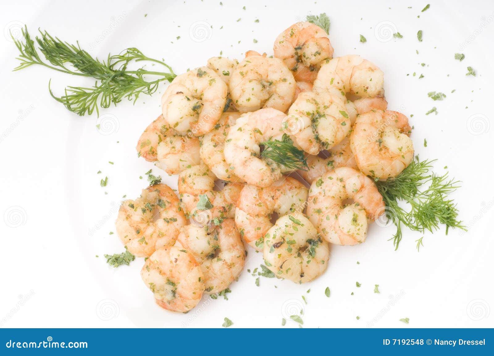 μαγειρευμένες γαρίδες