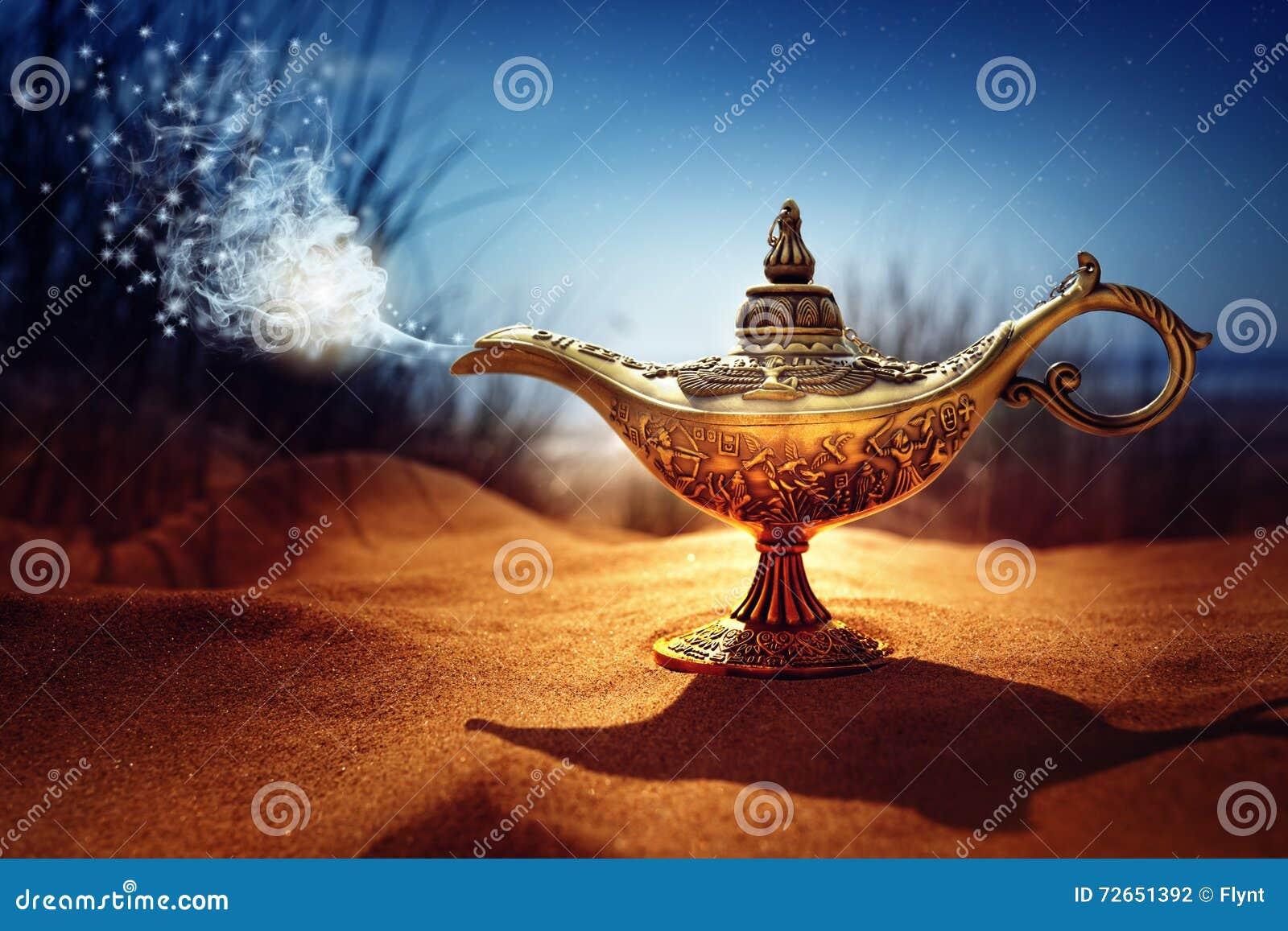 Μαγικός λαμπτήρας μεγαλοφυίας Aladdins