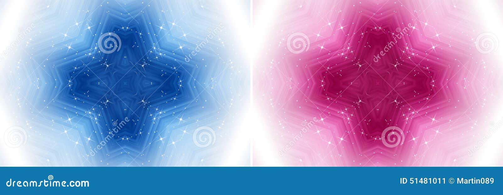 Μαγικό διαγώνιο υπόβαθρο με τα αστέρια