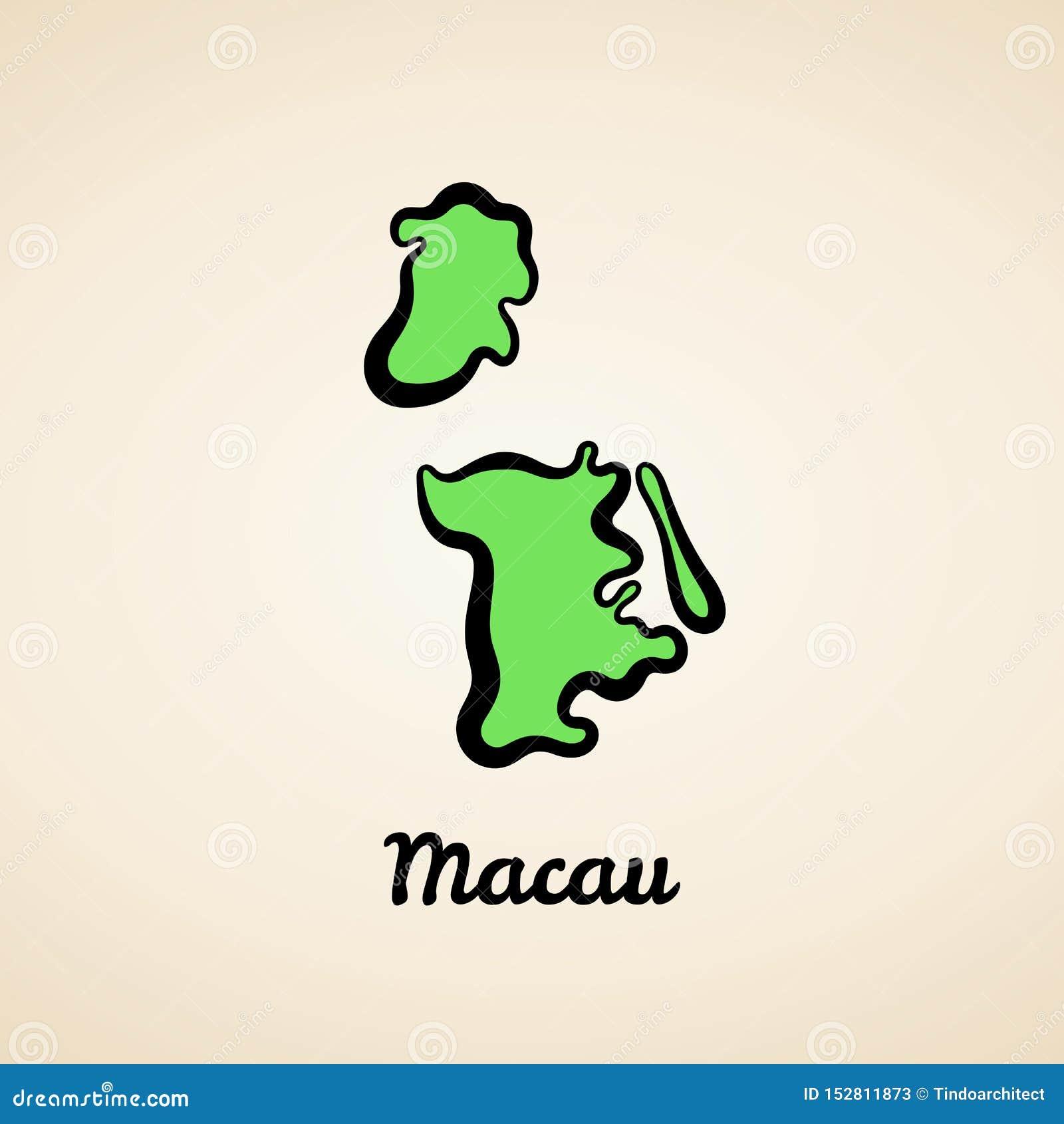 Μακάο - χάρτης περιλήψεων
