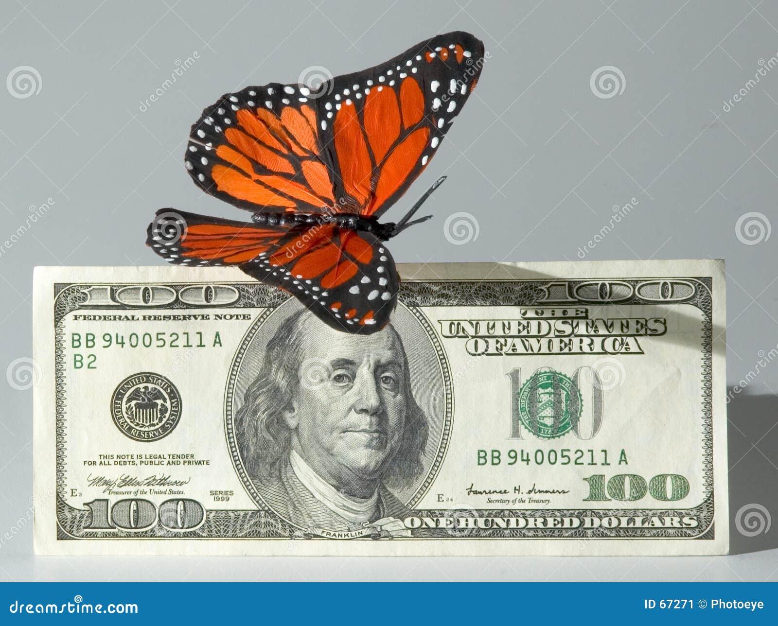 μακριά πετώντας χρήματα